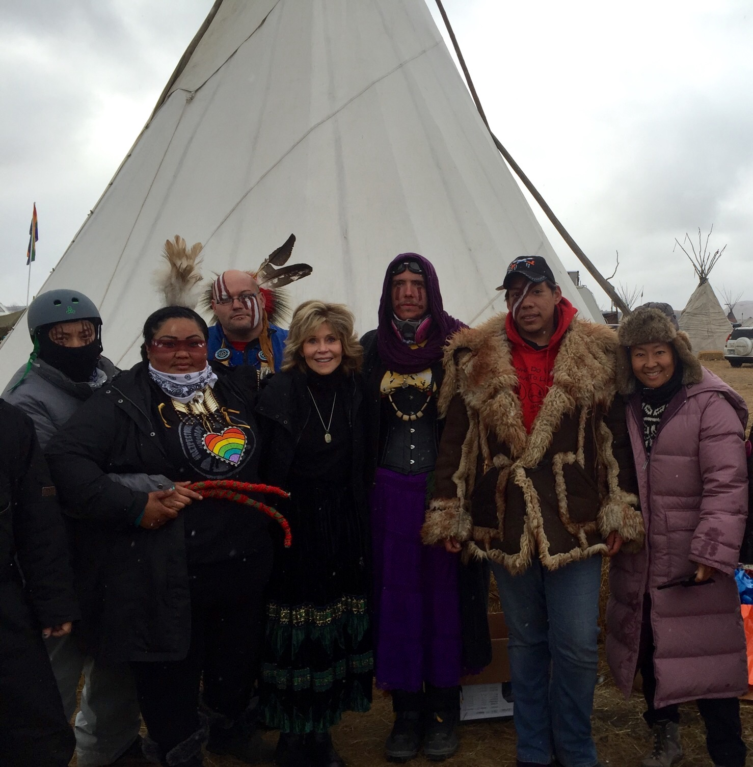 Standing with Standing Rock