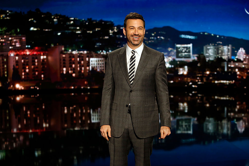 ABC's  Jimmy Kimmel Live  airs every weeknight at 11:35 p.m. EST