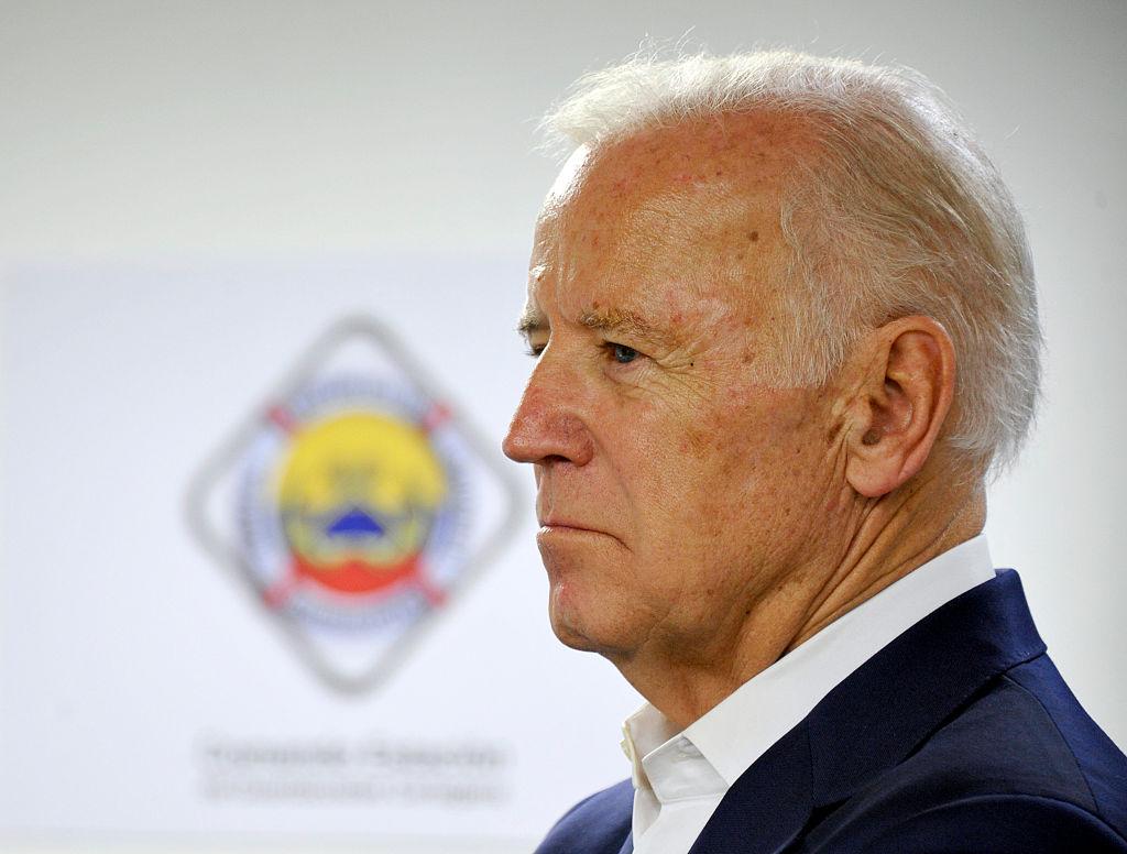 Vice-President Joe Biden visits Cartagena's Simon Bolivar Naval Base in Cartagena, Colombia, on Dec. 2, 2016.
