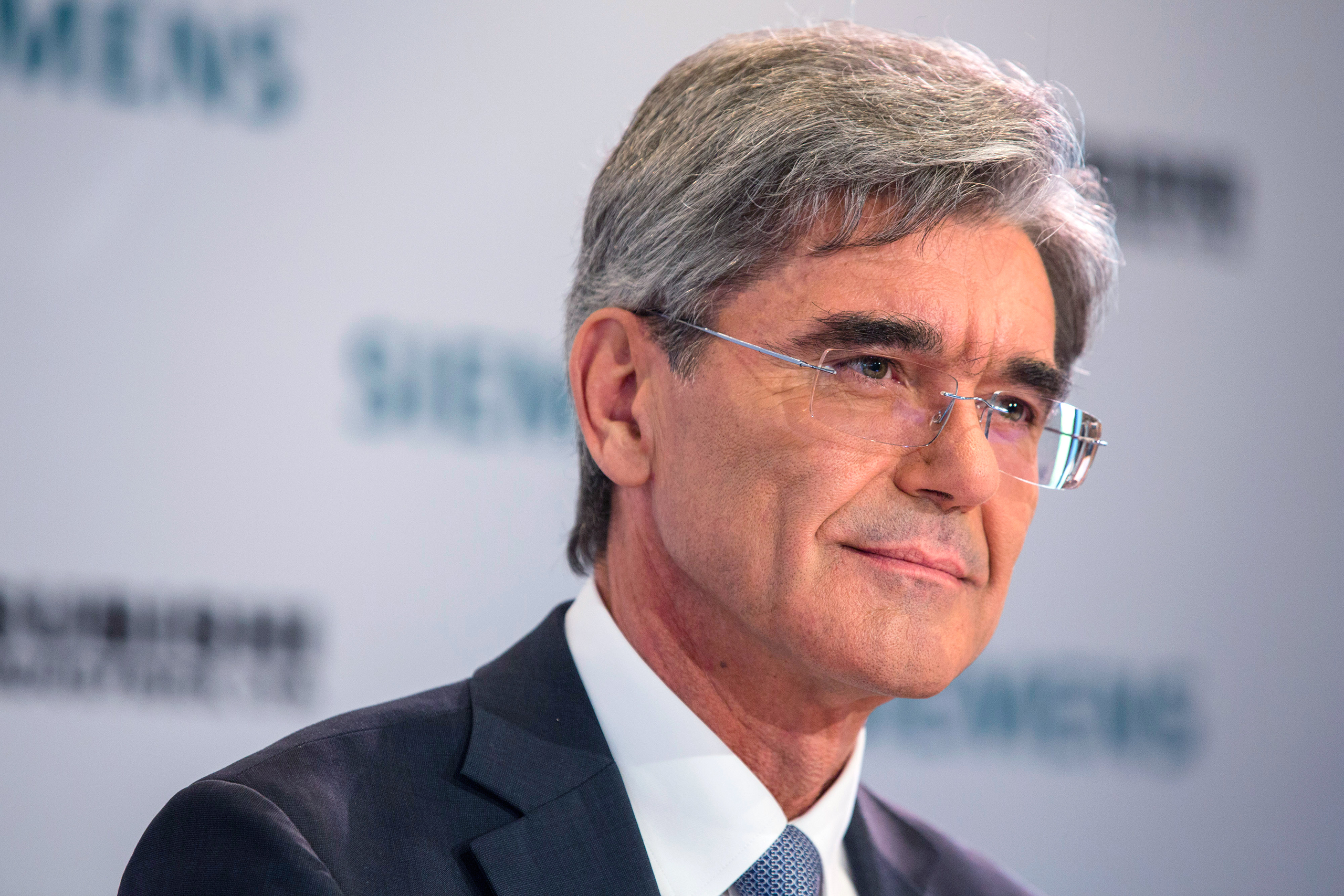 Joe Kaeser, chief executive officer of Siemens AG
