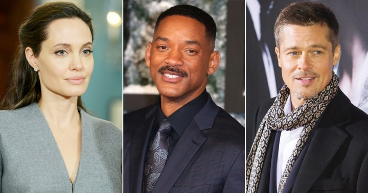 Angelina Jolie, Will Smith, Brad Pitt