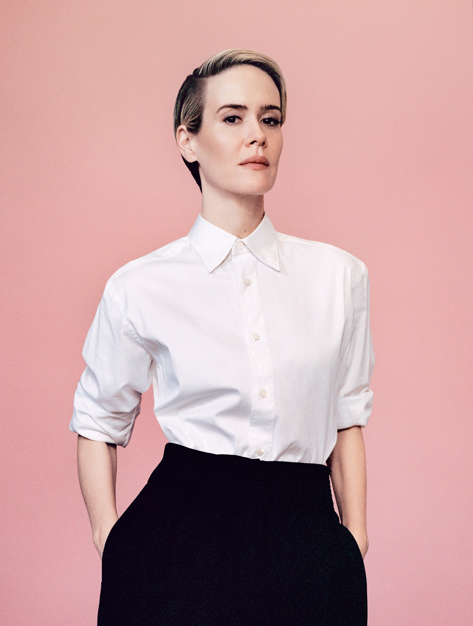 Actor Sarah Paulson photographed in New York City on Nov. 6, 2016.From  The Best of Culture 2016.  Dec. 19, 2016 issue.