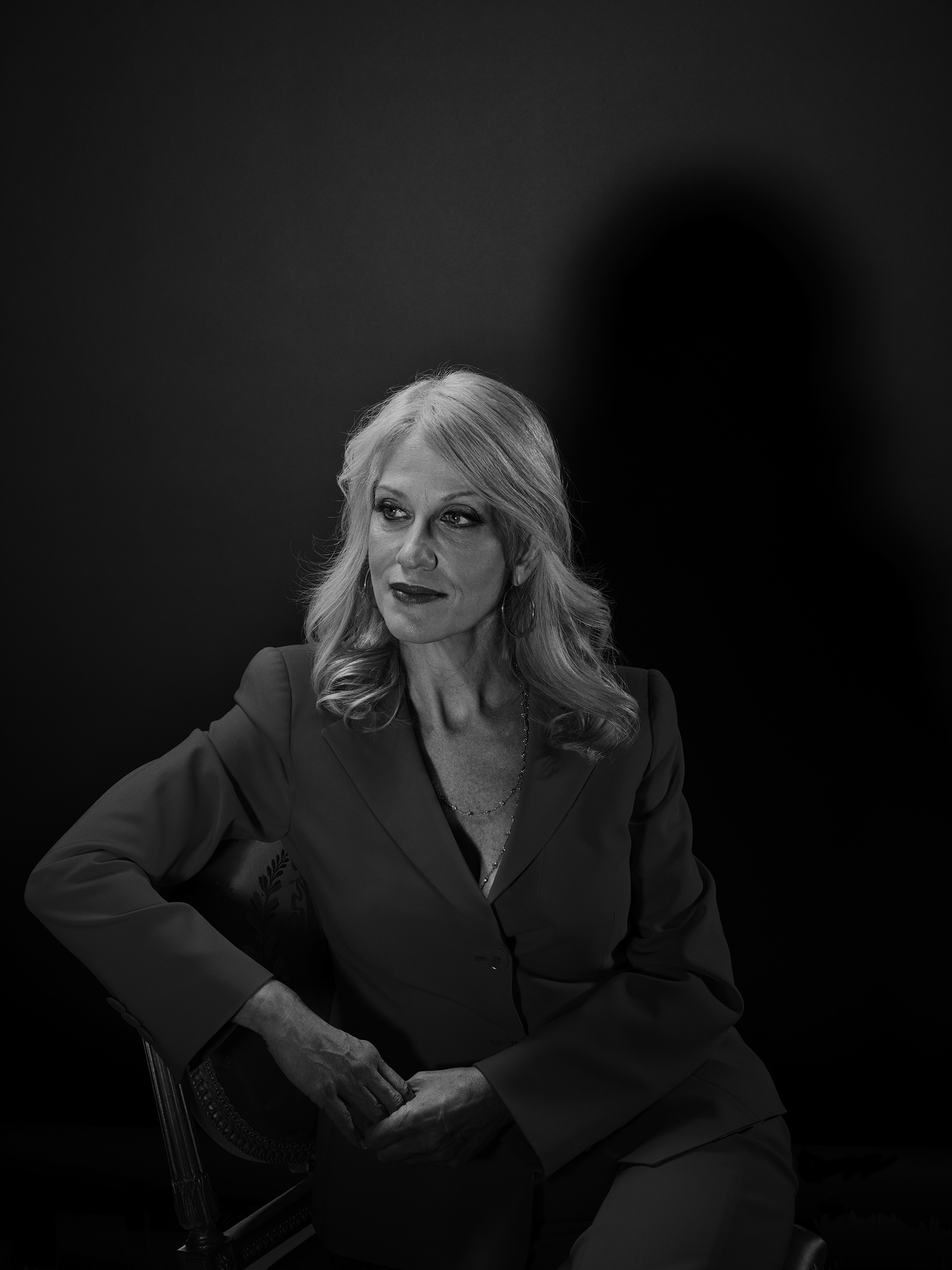 The Trump Whisperer                               A former resident of one of Trump's buildings, pollster Kellyanne Conway became his campaign manager in August. She is known for her blunt advice, sometimes through TV appearances.                               From                                 See Portraits of Donald Trump's Most Trusted Advisers