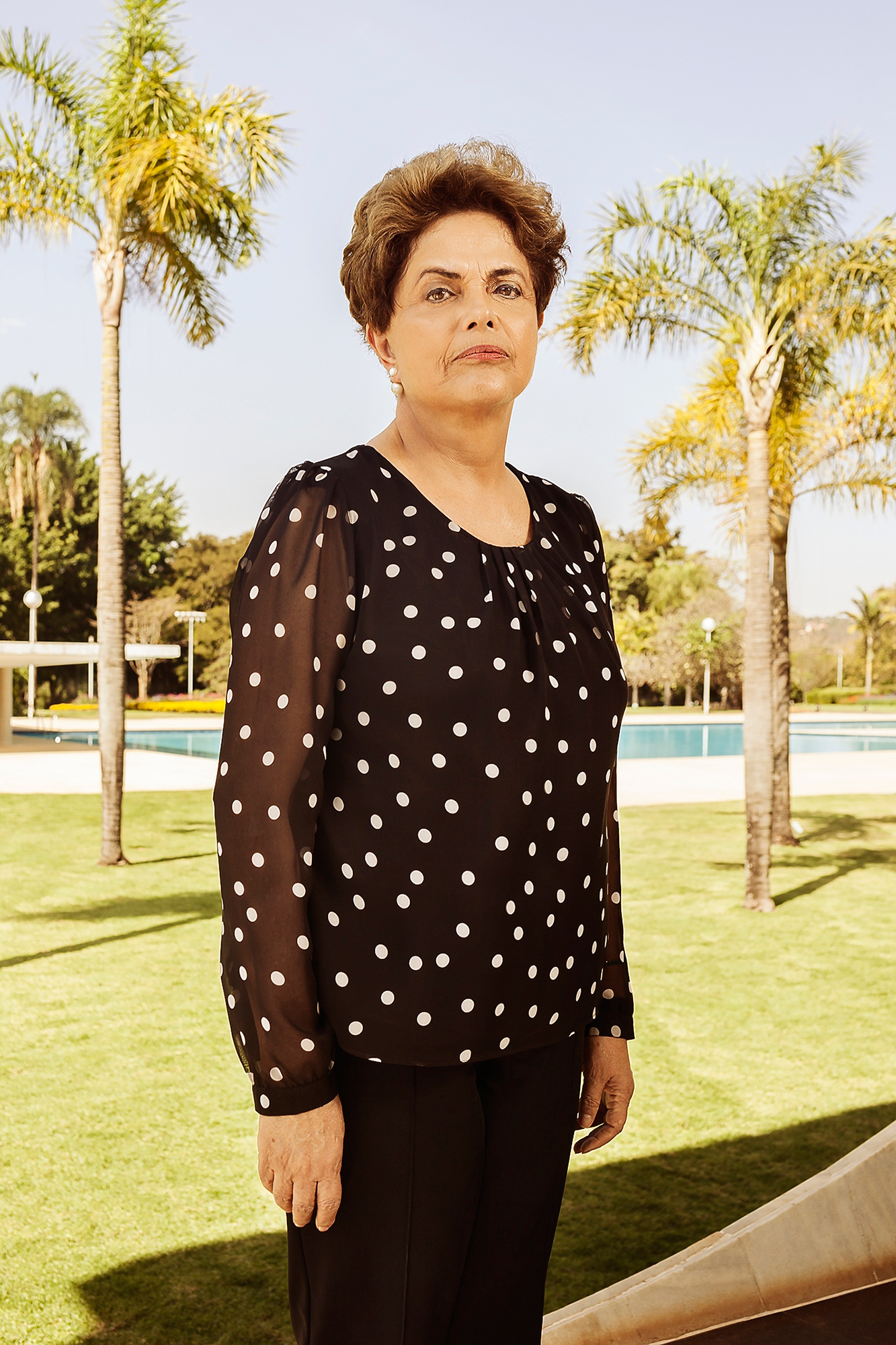 Dilma Rousseff photographed at Alvorada Palace in Brasilia, Brazil on July 22, 2016.From  Brazil's Dilma Rousseff on Her Impeachment Trial, the Olympics and Zika
