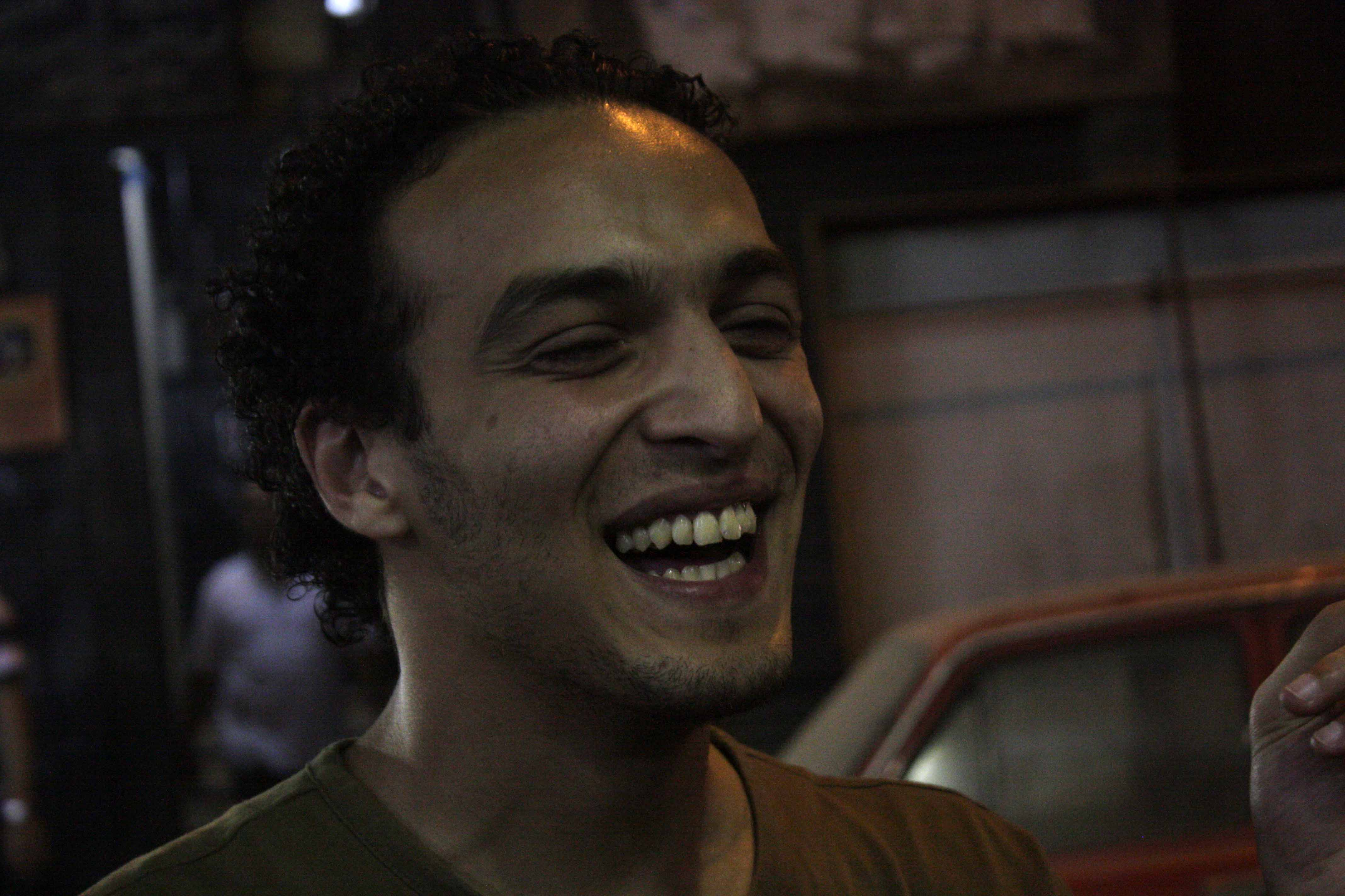 Photojournalist Mahmoud Abou Zeid, known as Shawkan, was arrested on Aug. 14, 2013, as he was taking pictures of the violent dispersal of the Rabaa al-Adaweya sit-in.