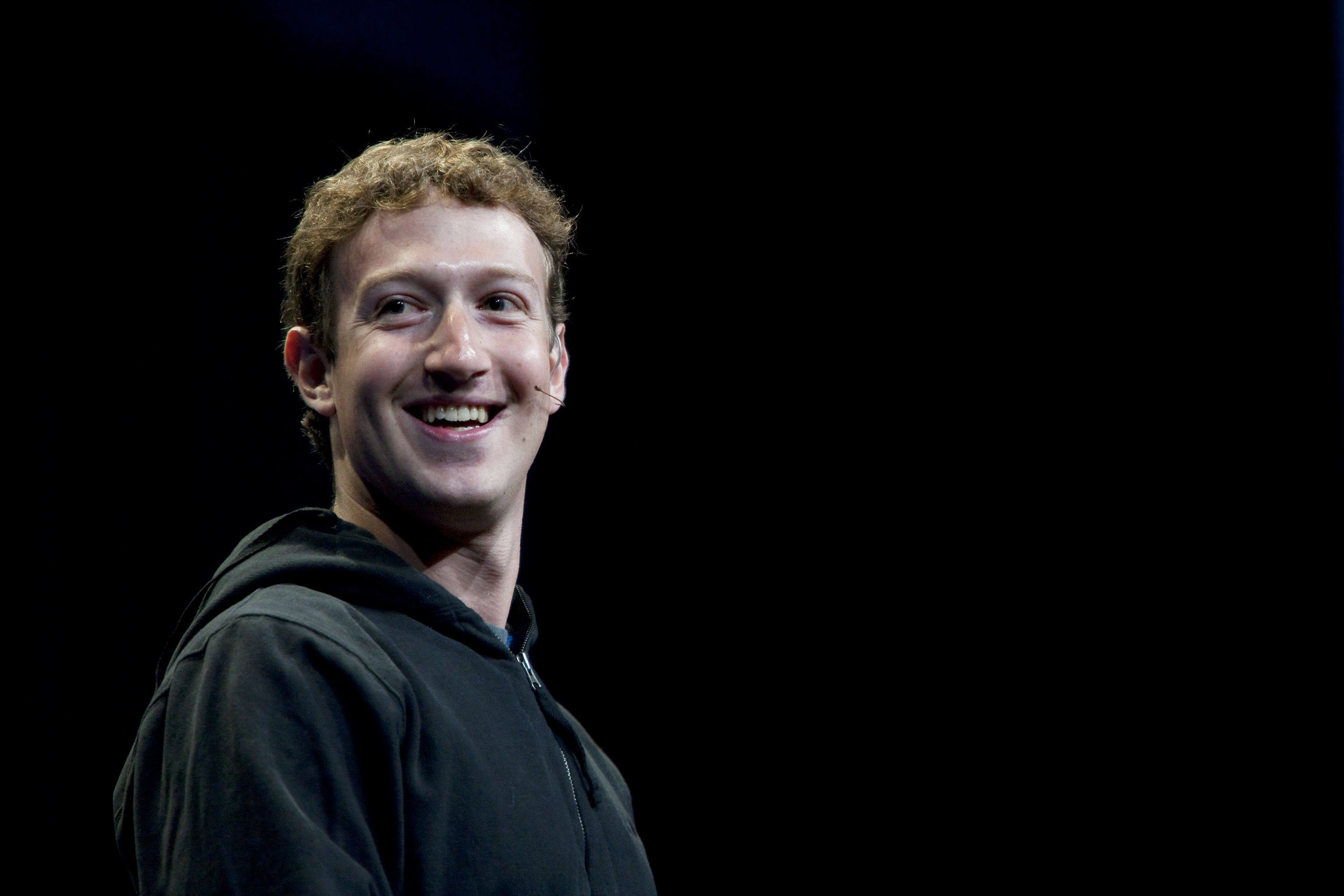 Mark Zuckerberg, founder and chief executive officer of Facebook Inc., gives a keynote address at the annual F8 developer conference in San Francisco, California, U.S., on Wednesday, April 21, 2010. Zuckerberg said he isn't counting on making money from the company's Facebook Credits online currency any time soon, even as he pumps resources into the project. Photographer: Kim White/Bloomberg via Getty Images
