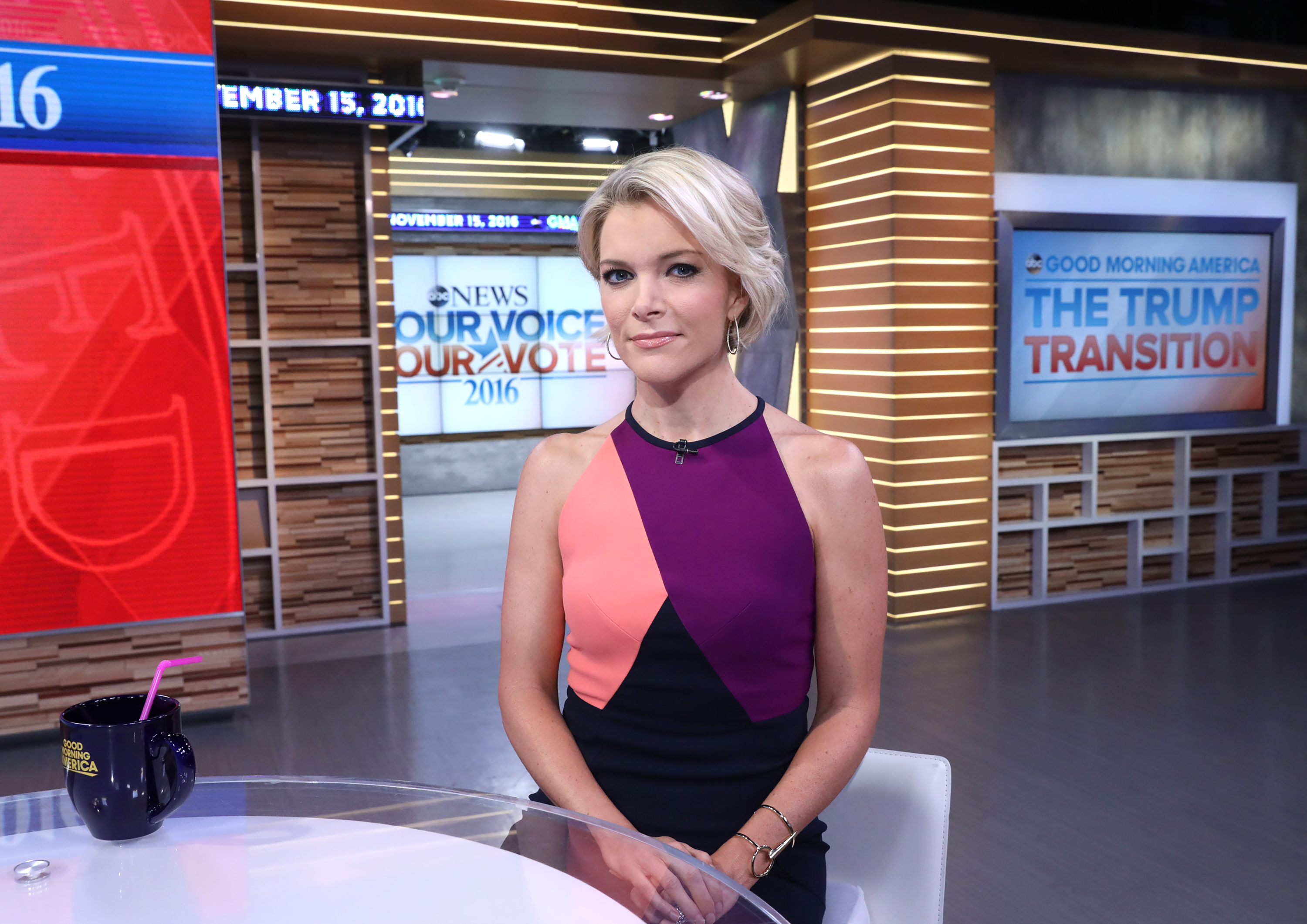 Megyn Kelly is a guest on  Good Morning America,  on Nov. 15, 2016.