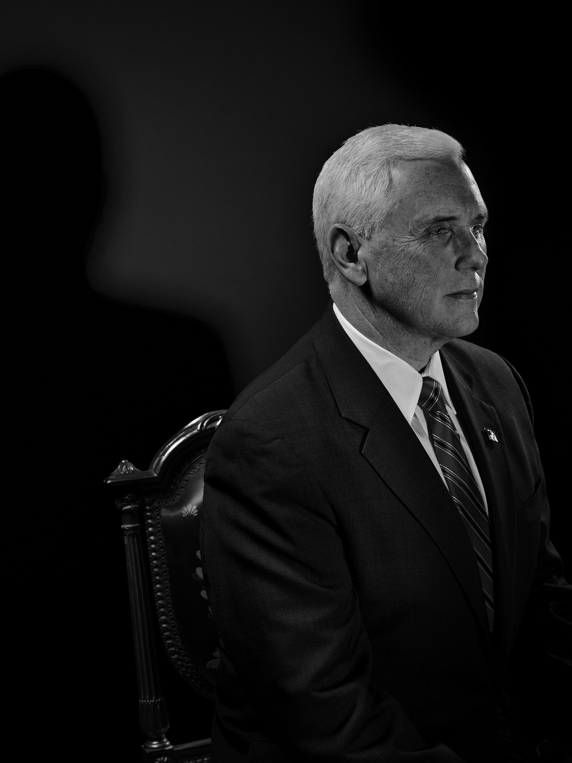 The True Believer                               A devout evangelical Christian and a former leader in the U.S. House, Vice President–elect Mike Pence will help Trump navigate the agendas of conservative lawmakers and activists.                               From                                 See Portraits of Donald Trump's Most Trusted Advisers