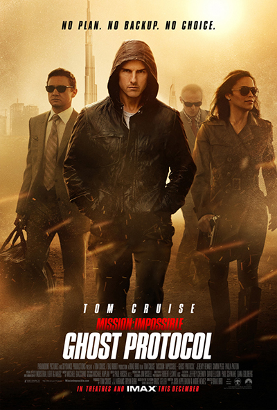 Mission: Impossible – Ghost Protocol, 2011