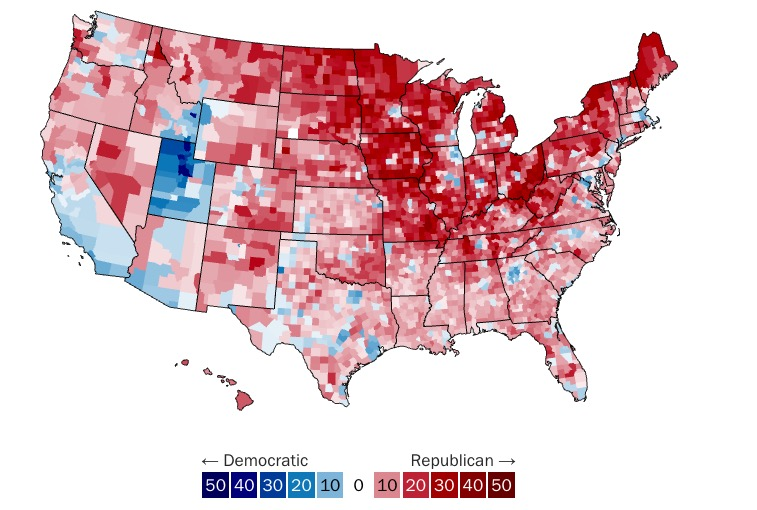 Donald Trump: See a Map That Shows How He Won | Time