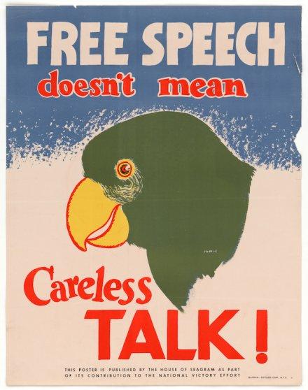 Free Speech poster