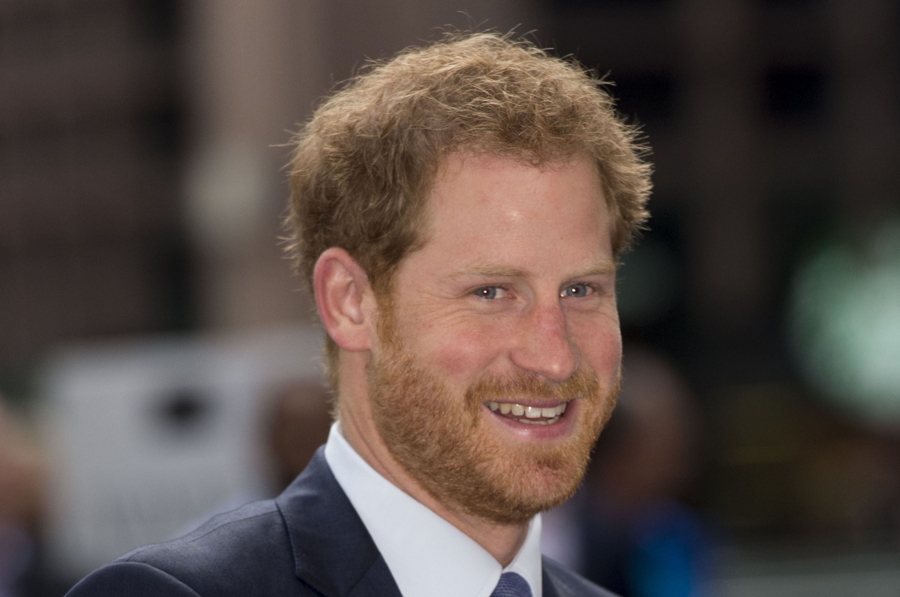 Prince Harry attends the ICAP's 24th annual charity trading day in aid of Sentebale at ICAP on December 7, 2016 in London, England.
