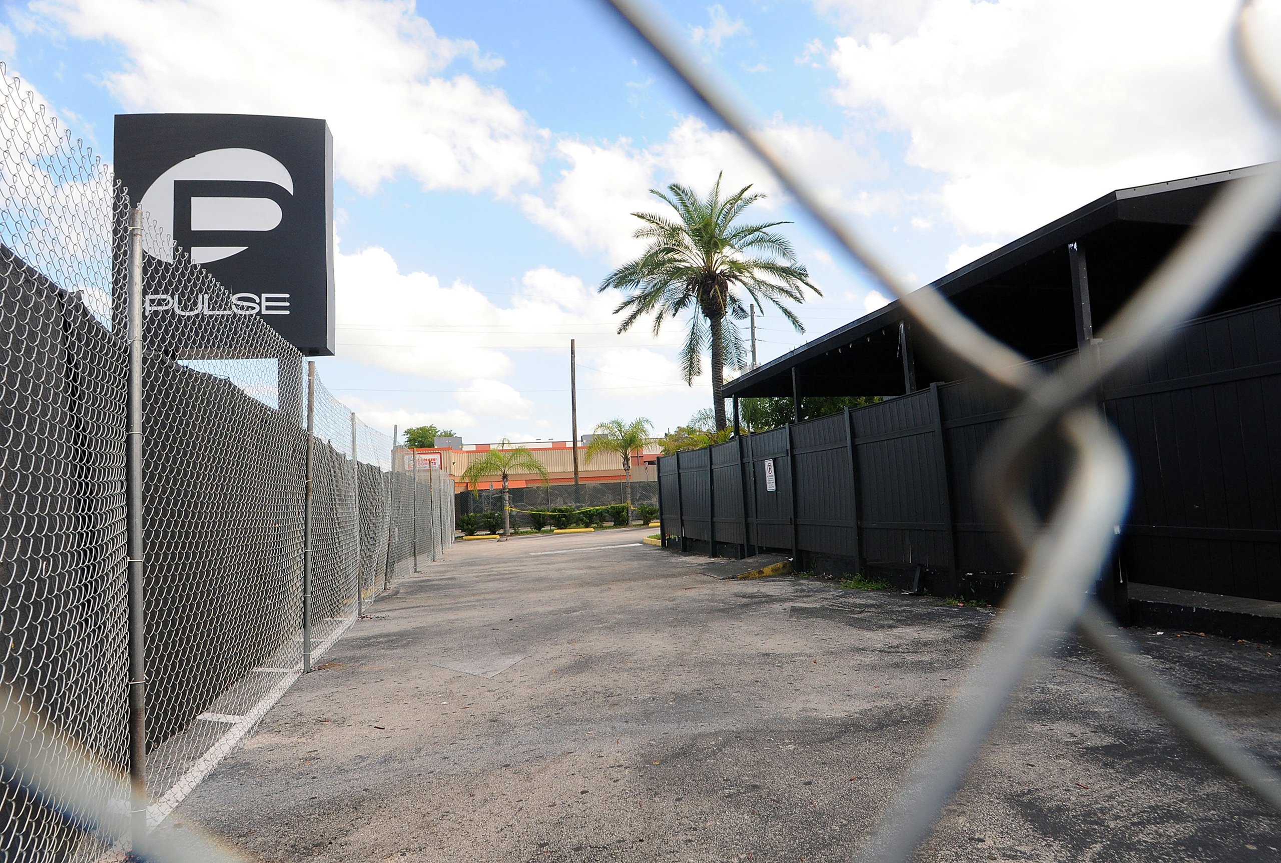 A view of the Pulse nightclub main entrance in Orlando, Florida, on June 21, 2016.