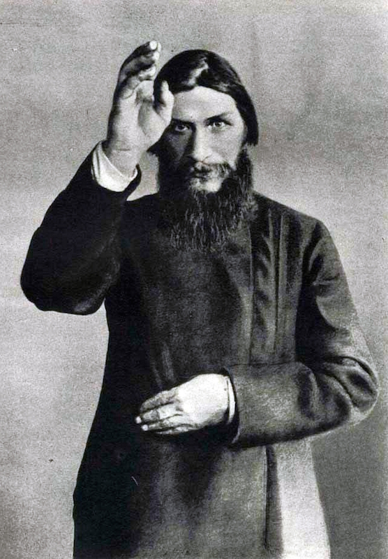 An undated photograph of Gregory Yefimovich Rasputin, Russian mystic who is perceived as having influenced the latter days of the Russian Emperor Nicholas II, his wife Alexandra, and their only son Alexei.