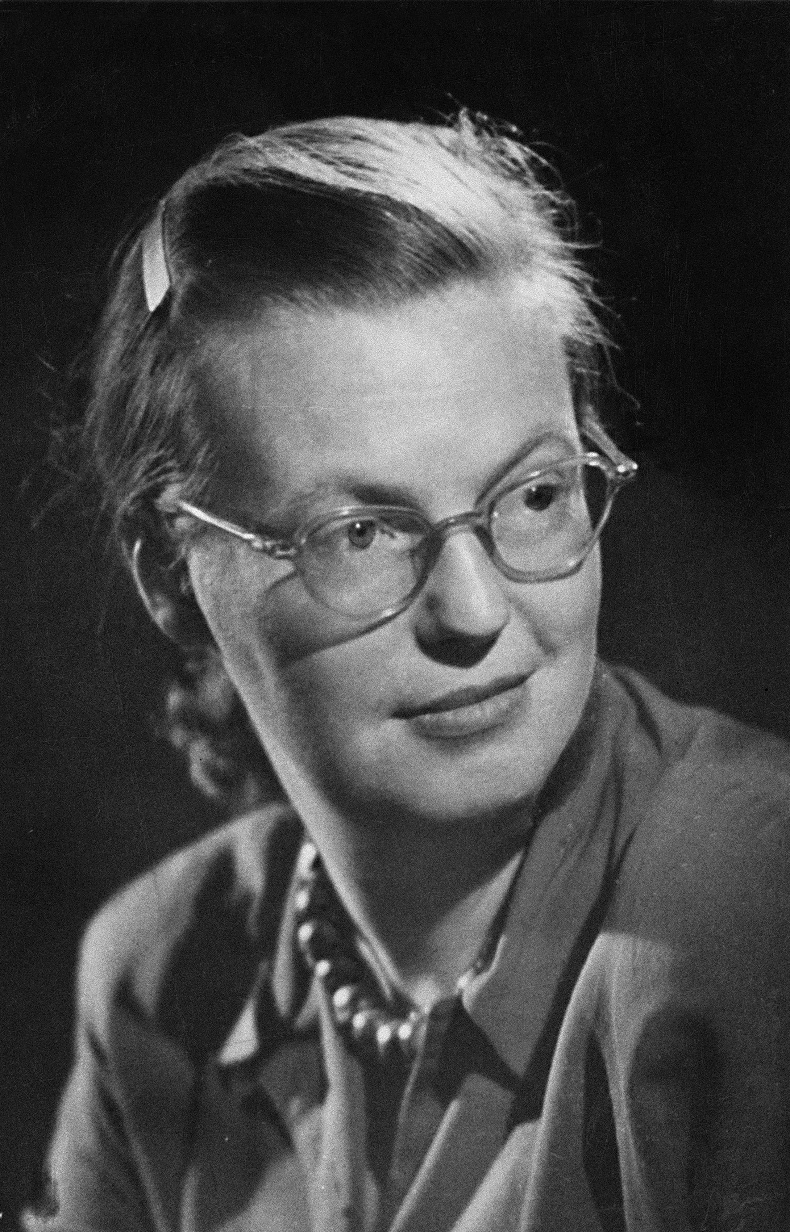 Shirley Jackson, the author of  The Road Through the Wall , is seen in this April 16, 1951 photo.