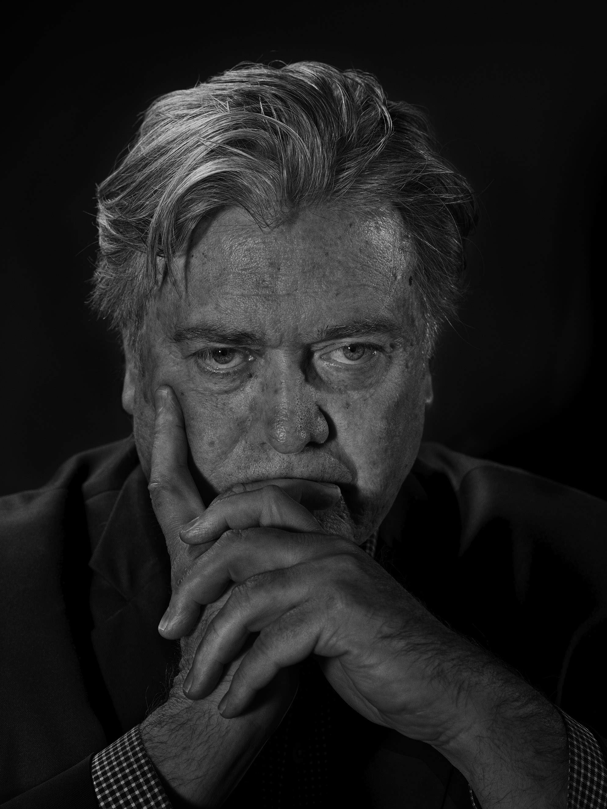 The Rabble-Rouser                               The former head of Breitbart, Stephen Bannon has pushed for a darker, more divisive populism, publishing articles that stirred racial animus. He will be a senior adviser at the White House.                               From                                 See Portraits of Donald Trump's Most Trusted Advisers