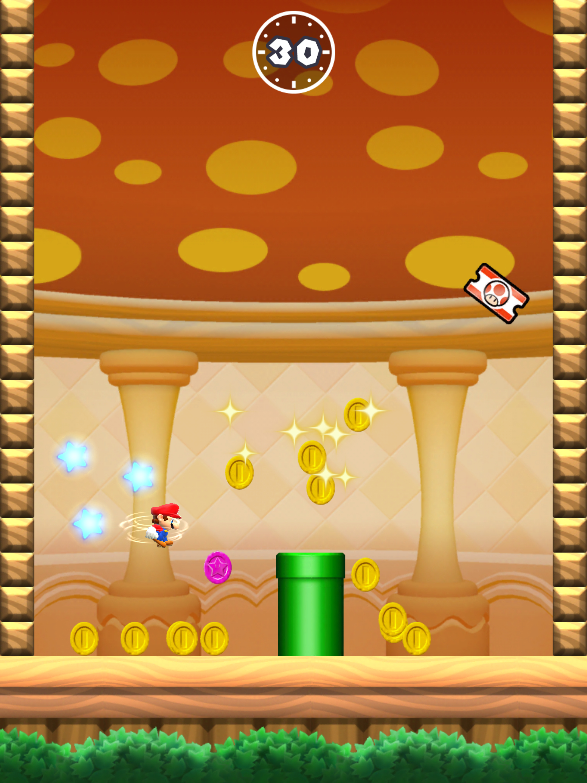 """""""By playing these levels and replaying Super Mario Run, I think people will find a lot of fun just in slight changes to the timing of their taps in order to get all of the colored coins or maximize their score."""""""