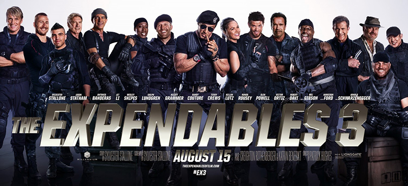 The Expendables 3, 2014