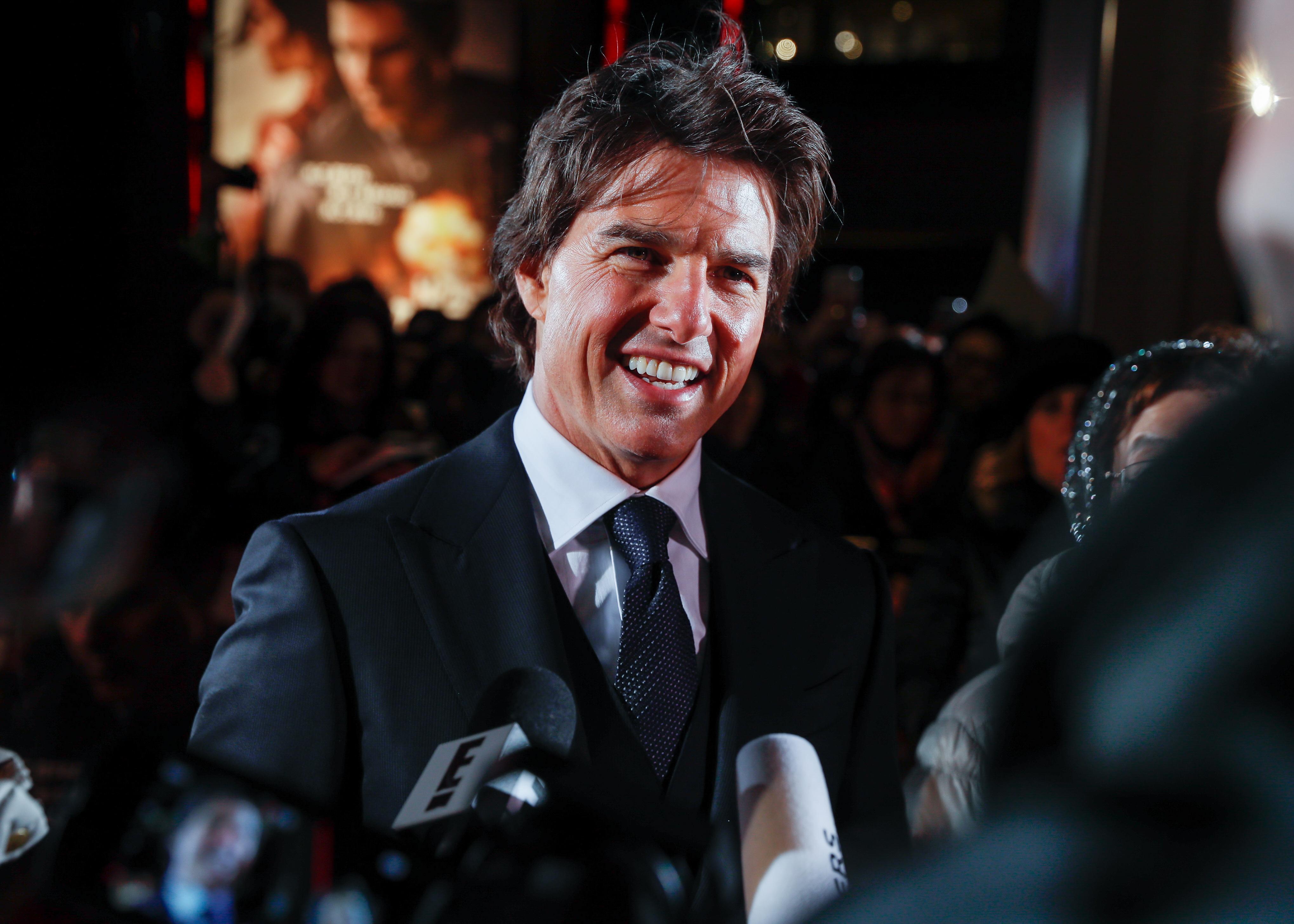 Tom Cruise, on Nov. 9, 2016 in Tokyo.