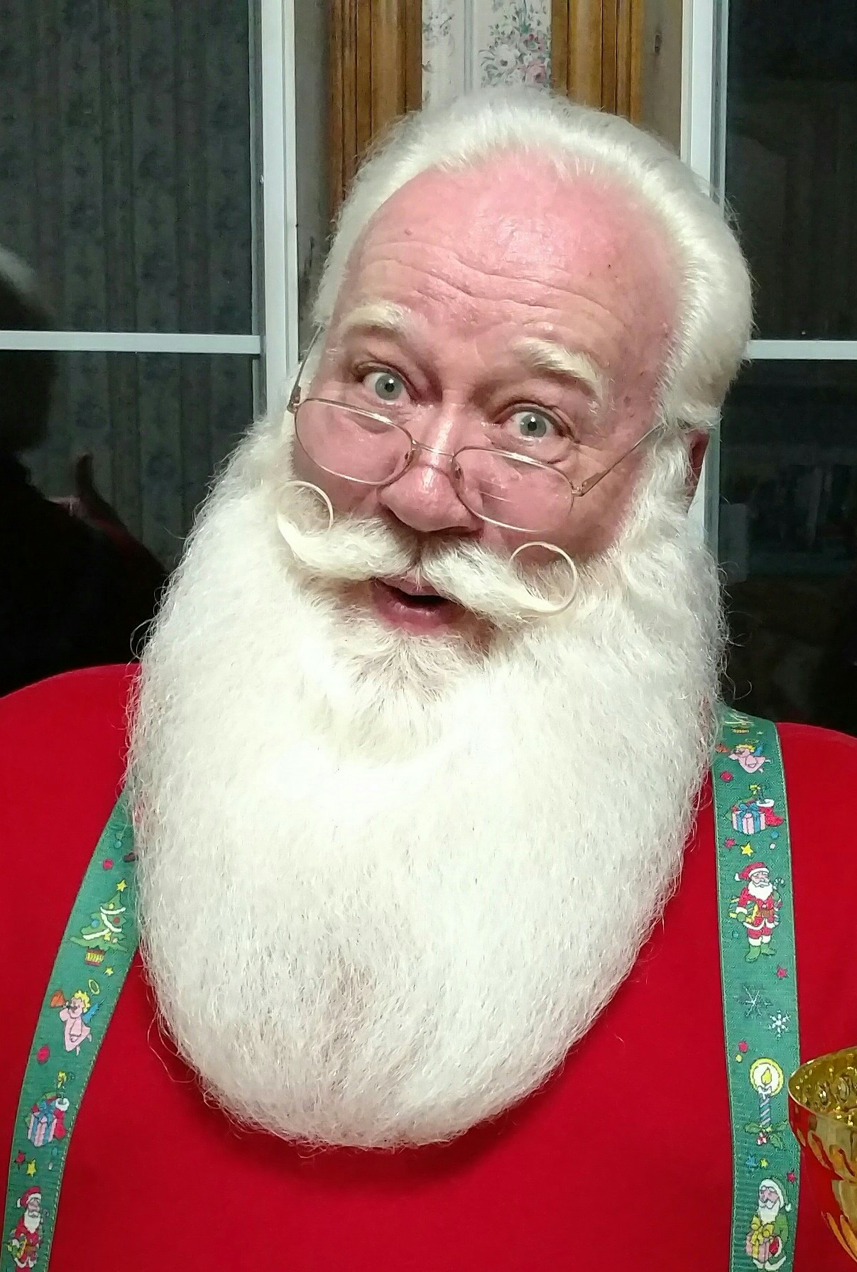 Eric Schmitt-Matzen, who plays Santa Claus, went viral this week for his story about a terminally ill boy dying in his arms.