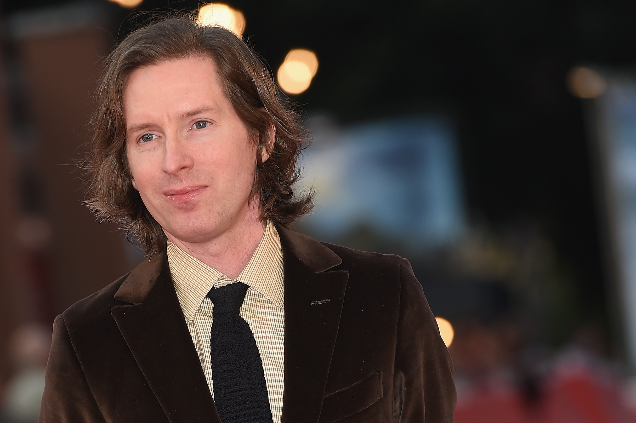 Wes Anderson walks the red carpet during the 10th Rome Film Fest at Auditorium Parco Della Musica on October 19, 2015 in Rome, Italy.