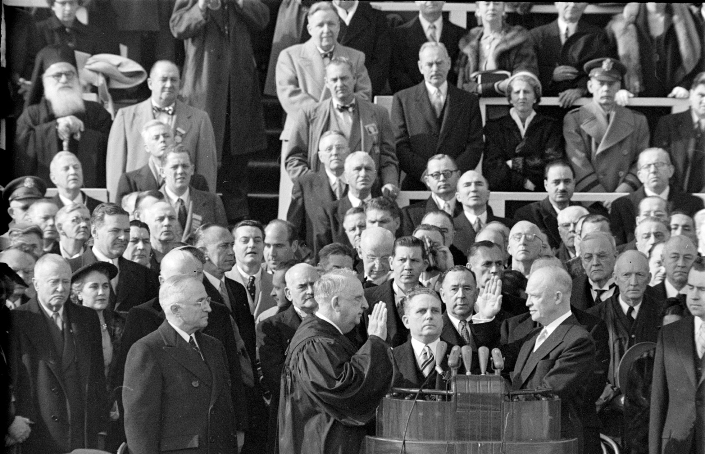 Eisenhower Inaugural, 1953.