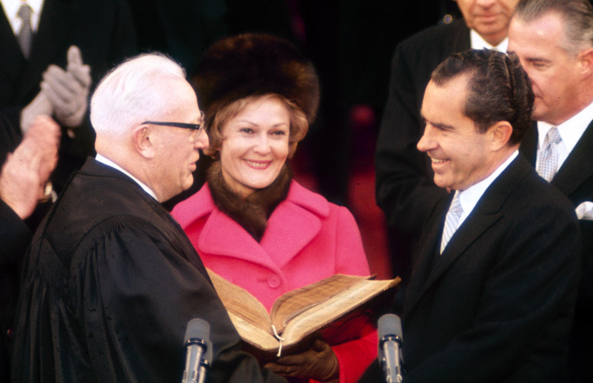 President Richard M. Nixon's inauguration, 1969.