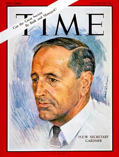 The Jan. 20, 1967, cover of TIME