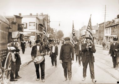 Coxey's Army Marches For The Unemployed