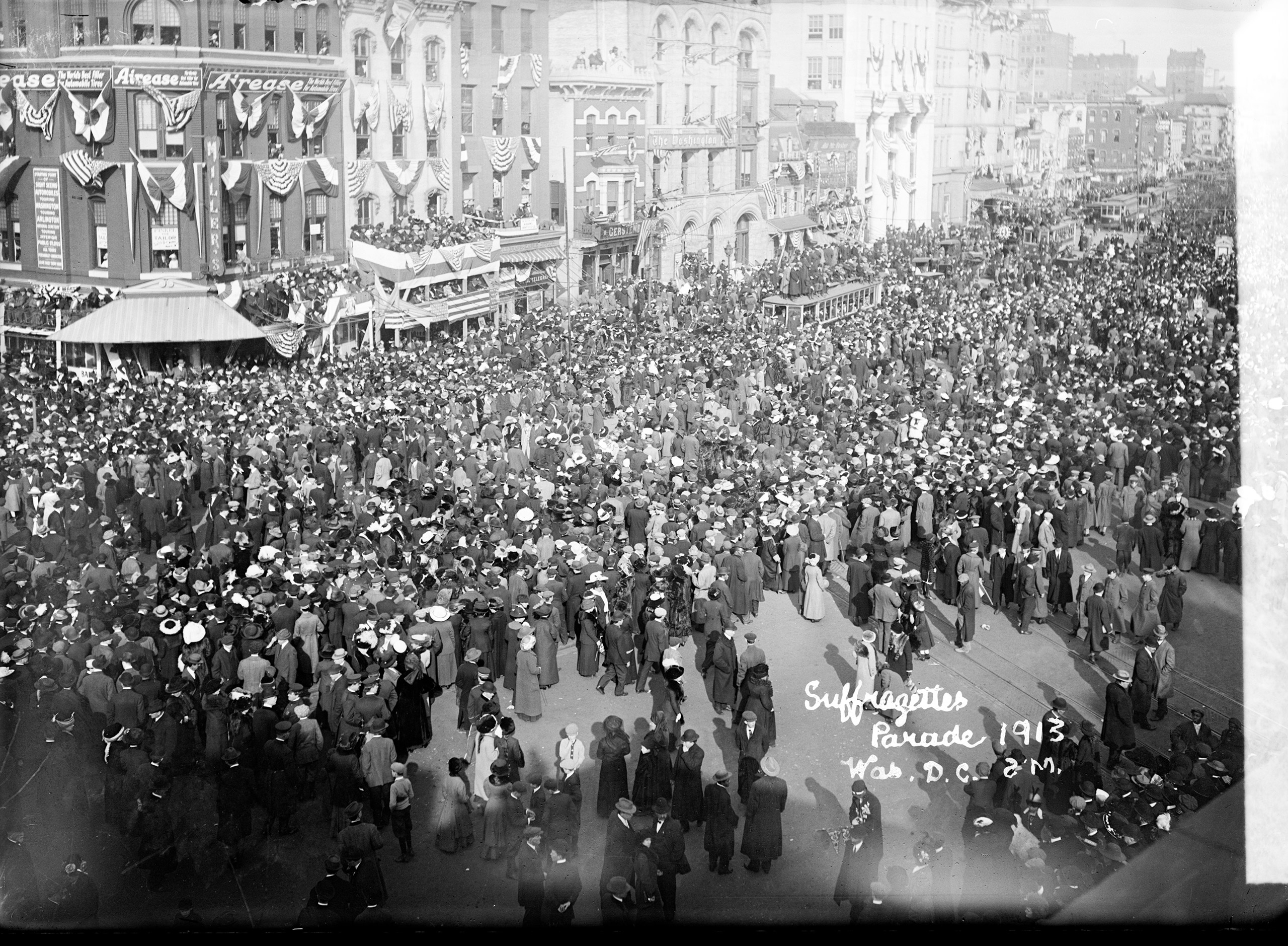 Suffrage parade, March. 3, 1913.