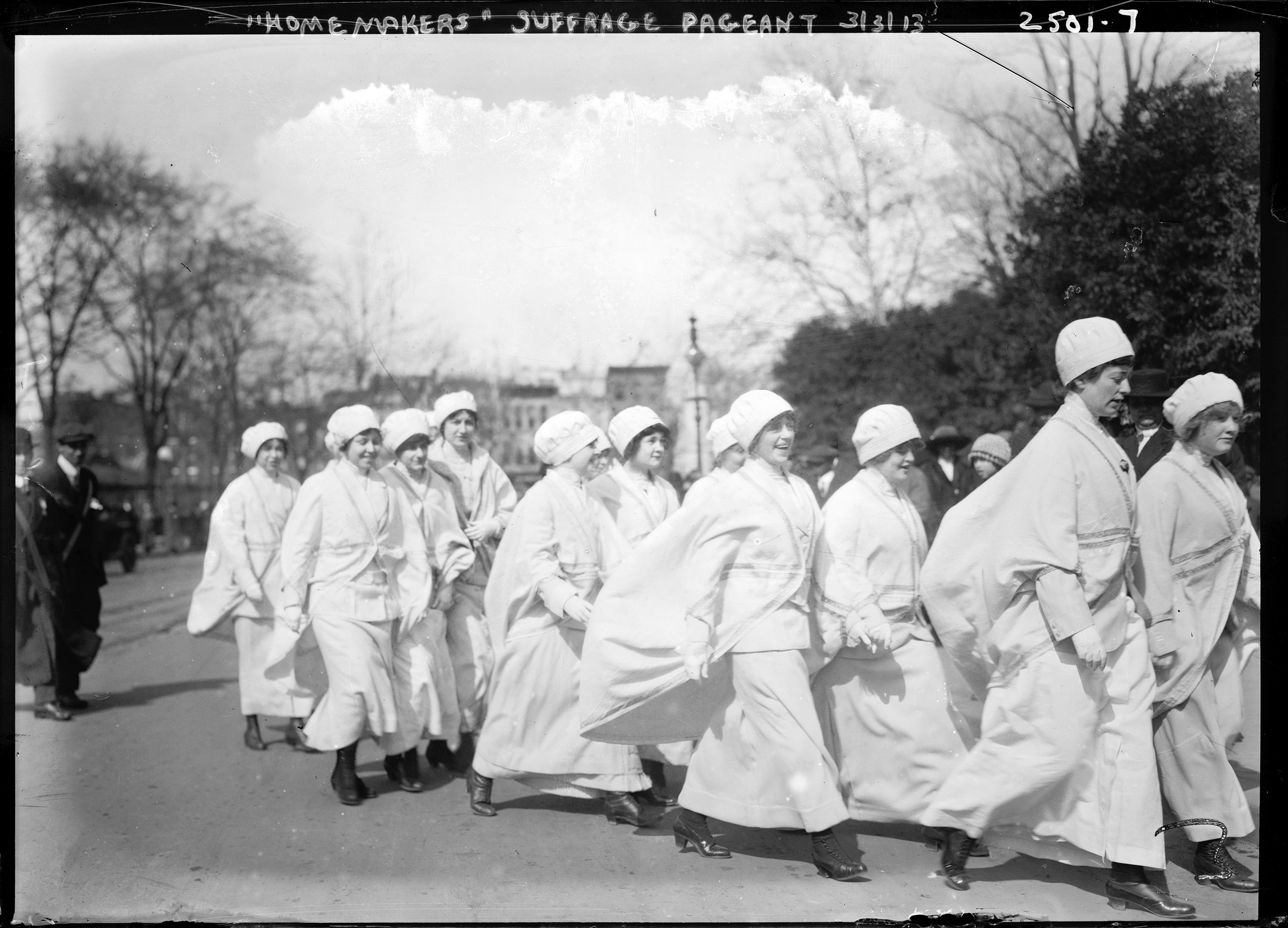 Woman Suffrage Parade held in Washington, D.C., March 3, 1913.