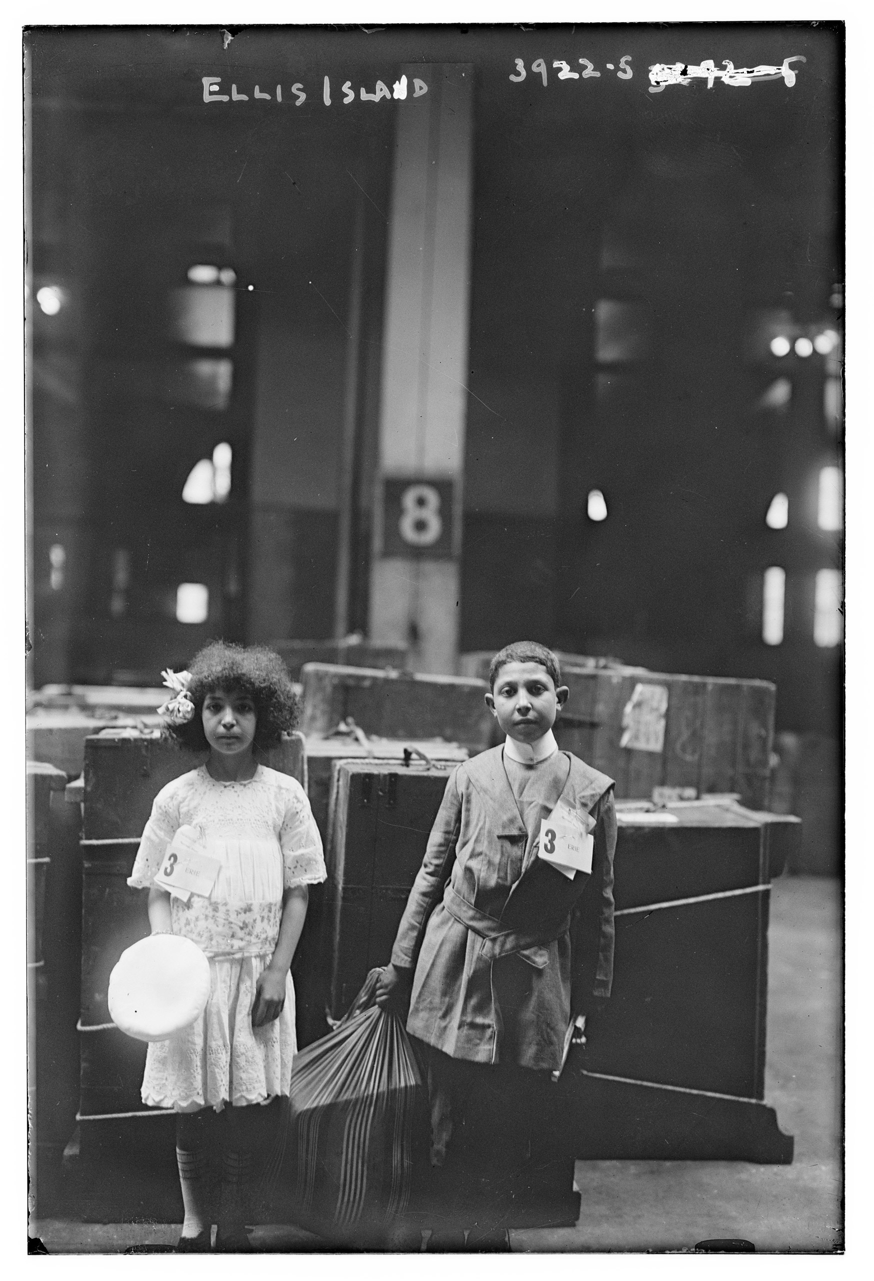 Ellis Island, cica 1915.