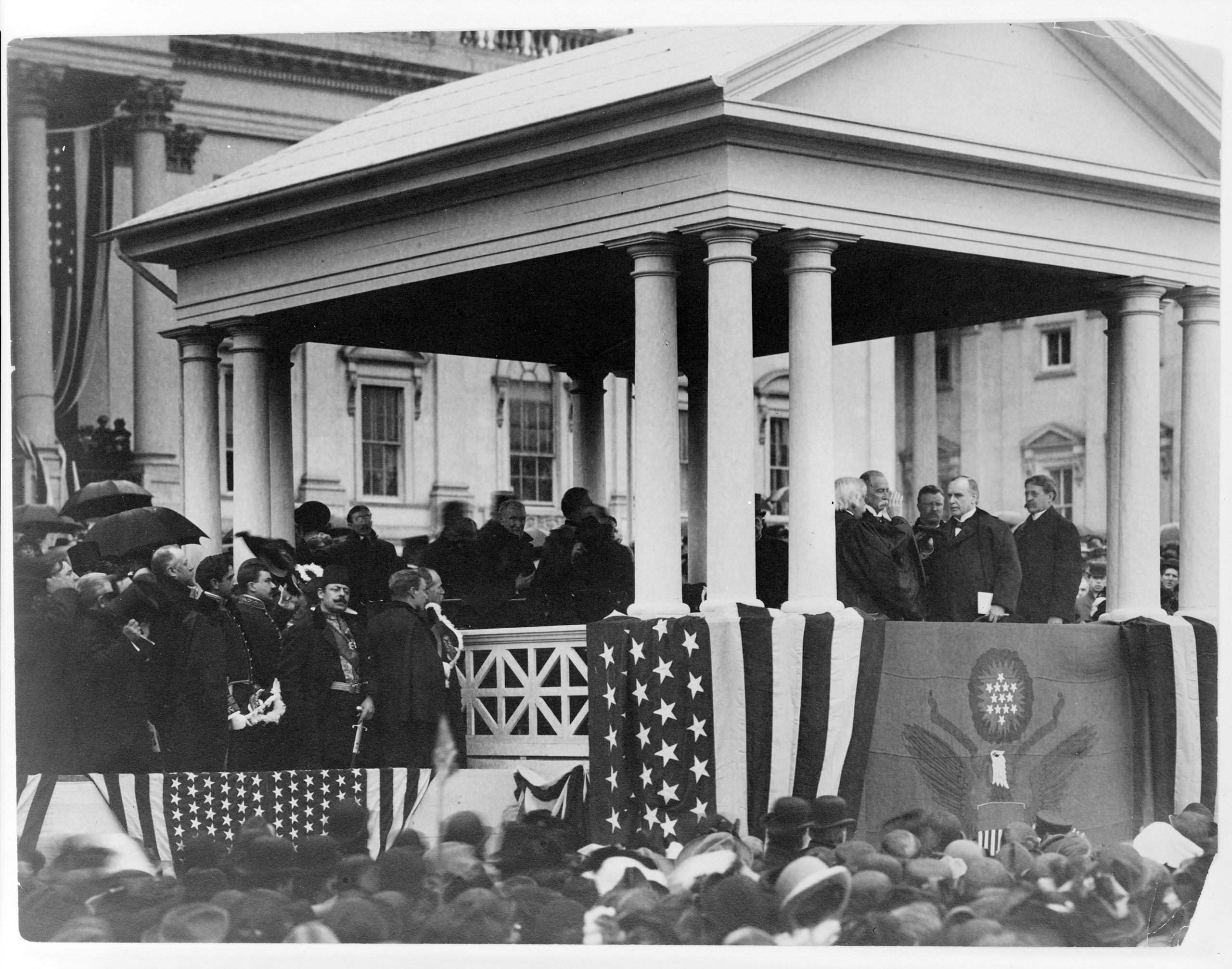 Second inauguration of President William McKinley, 1901.