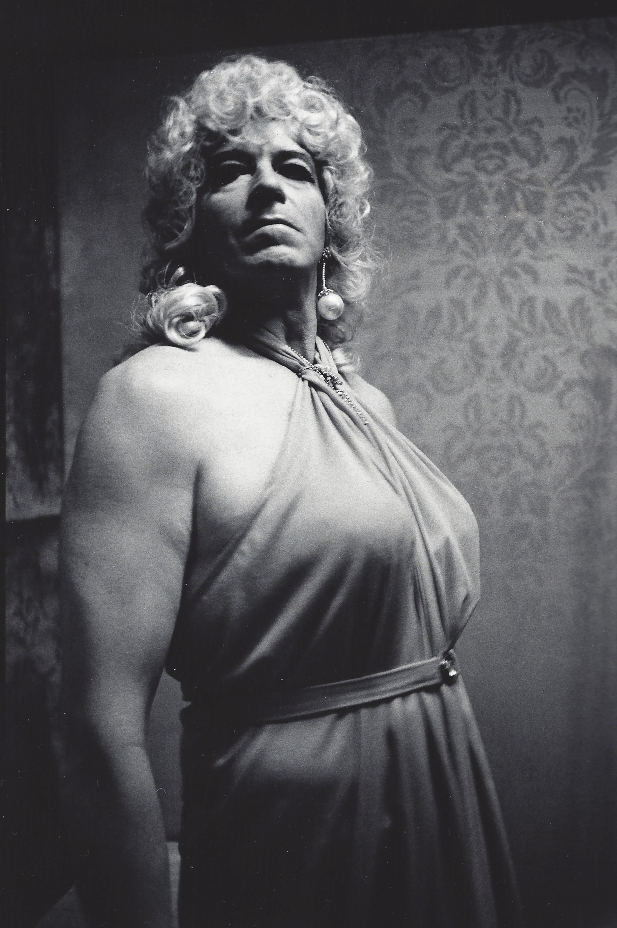 Drag Queen, Long Beach, 1971.