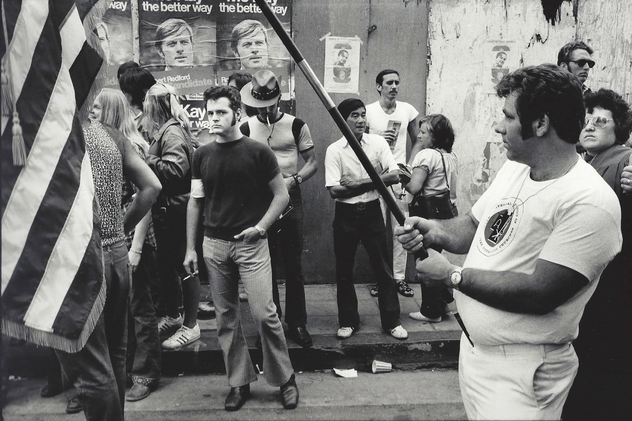 Gay Liberation Parade, Hollywood, 1972.
