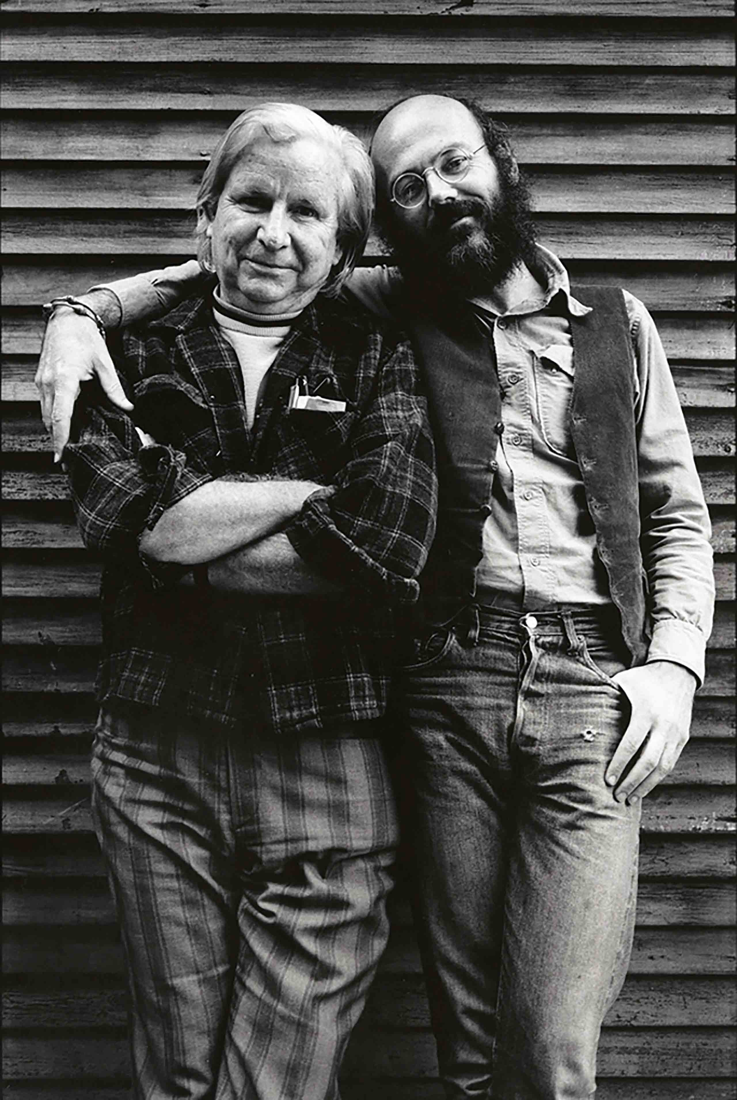 Don Kilhefner and Morris Kight at the Gay Community Services Center, Los Angeles, 1972.
