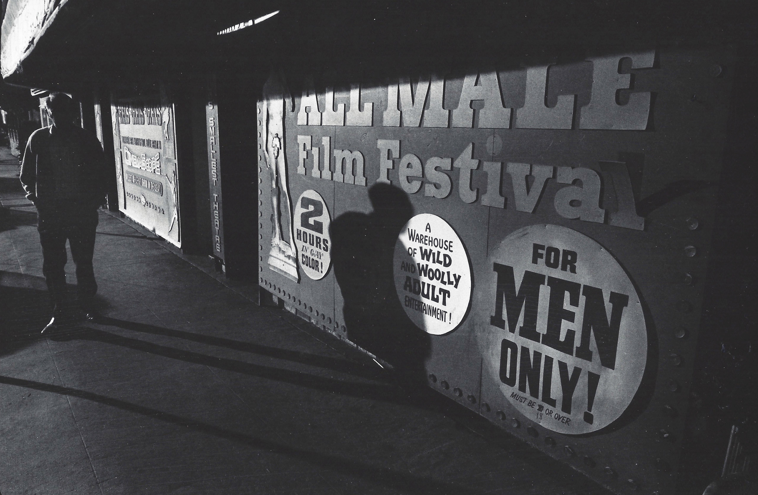 All-Male Film Festival, Hollywood, 1972.