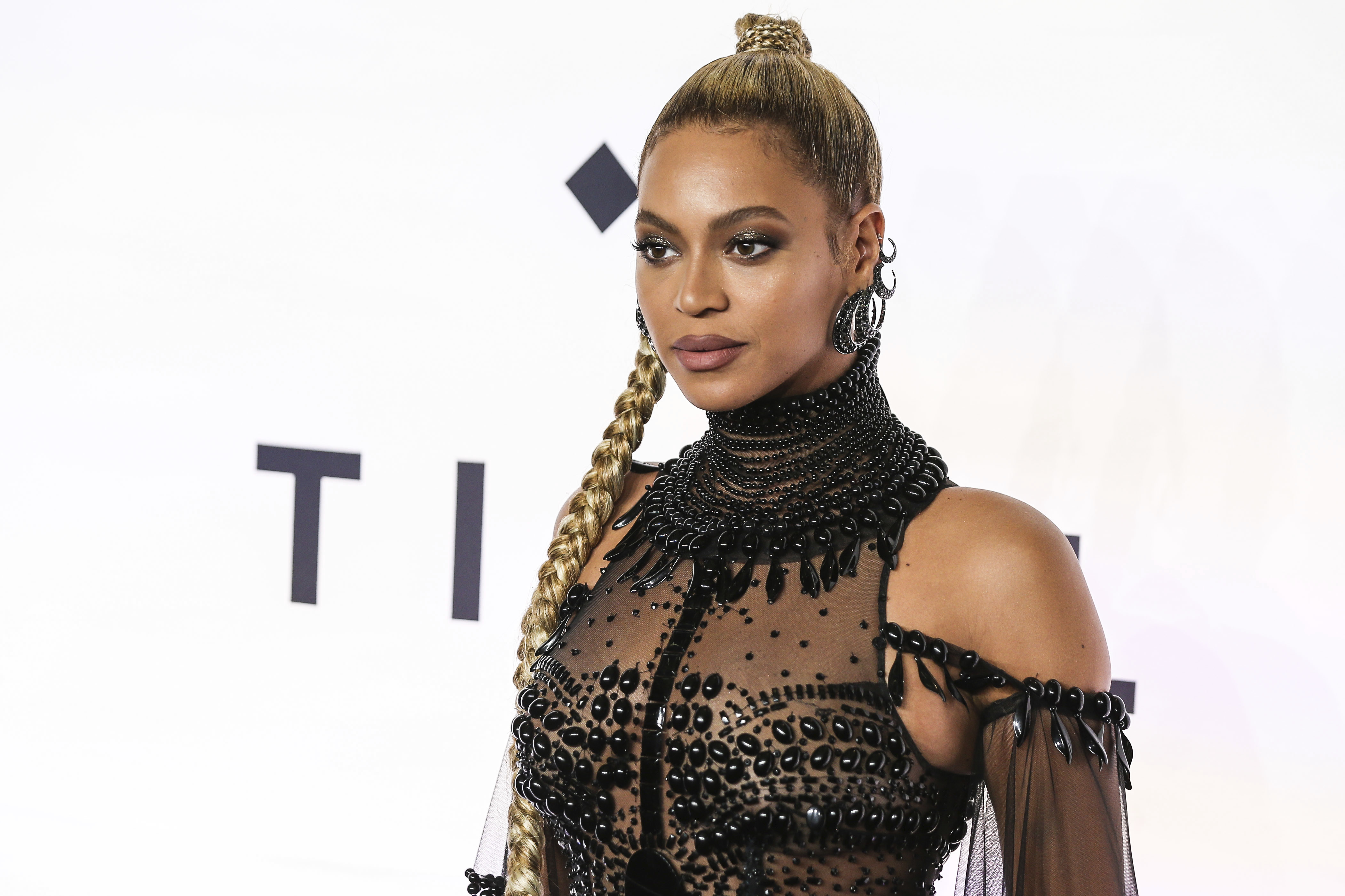 NEW YORK, UNITED STATES - OCTOBER 15:  Beyonce attends TIDAL X: 1015 at Barclays Center on October 15, 2016 in New York, United States. (Photo by William Volcov/Brazil Photo Press/LatinContent/Getty Images)