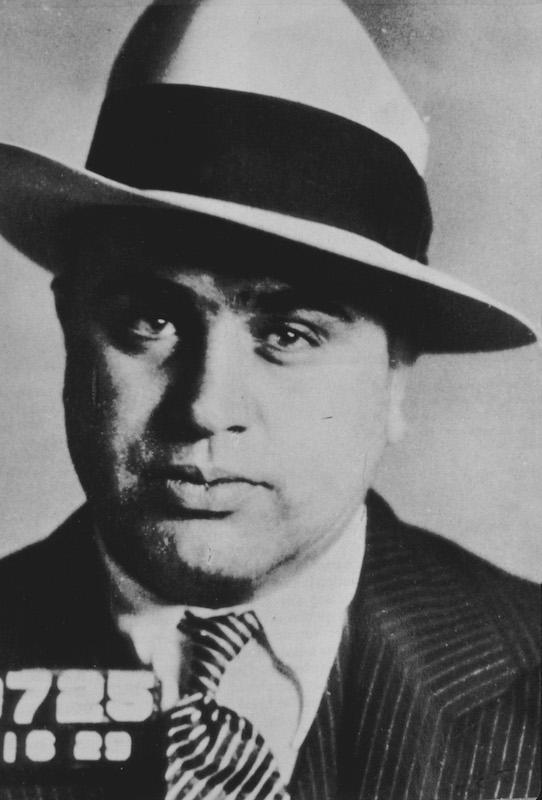 Al Capone on Oct. 16,1929.