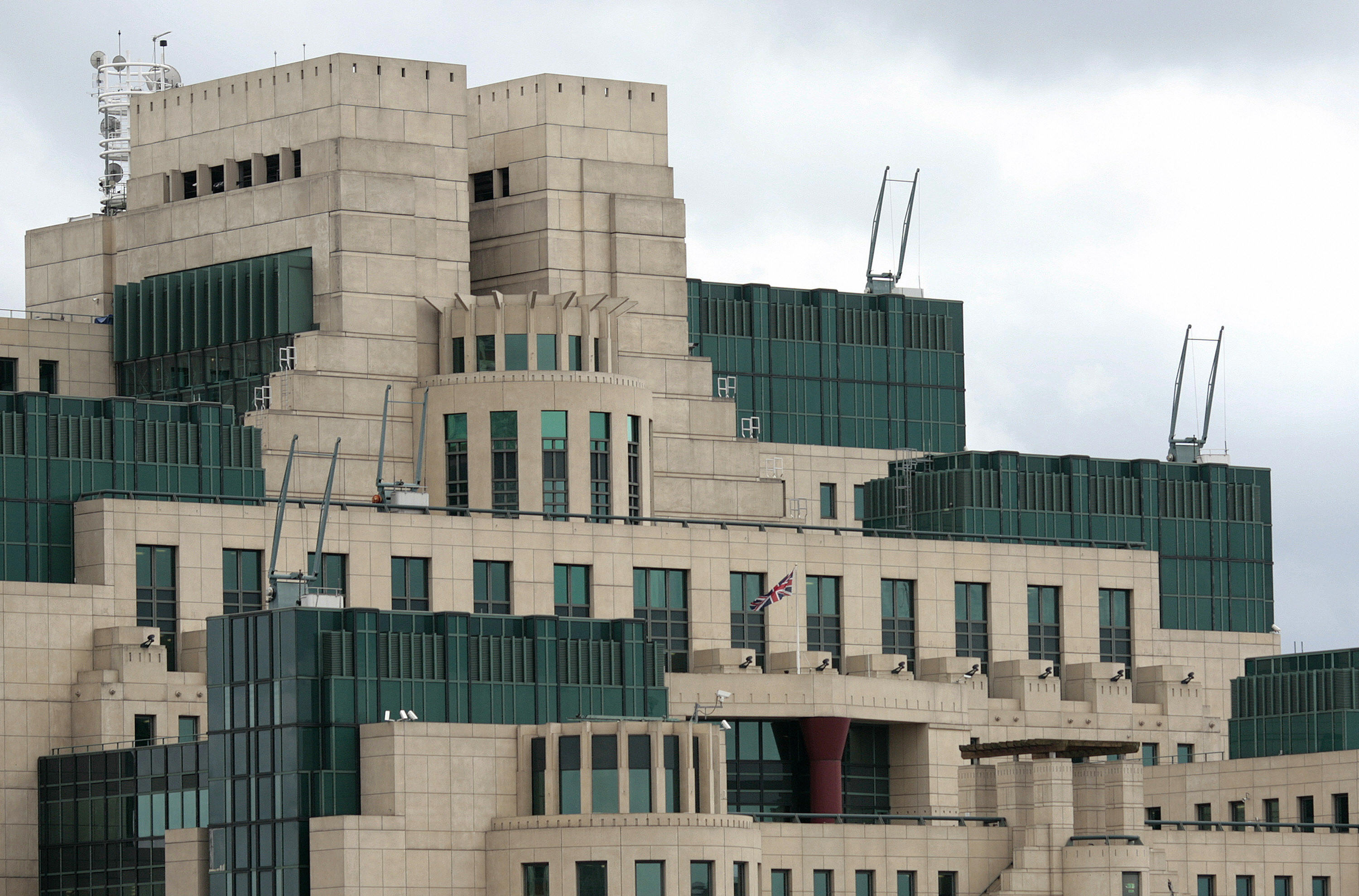The MI6 building, which is the SIS (The Secret Intelligence Service) headquarter, is pictured at Vauxhall Cross in central London on March 3, 2009.