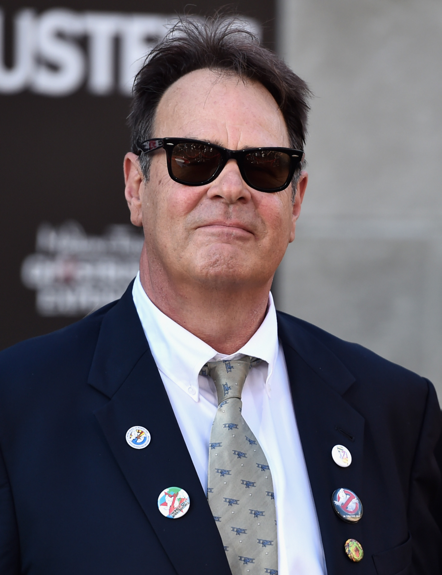 Actor Dan Aykroyd arrives at the Premiere of Sony Pictures' 'Ghostbusters' at TCL Chinese Theatre on July 9, 2016 in Hollywood, California.