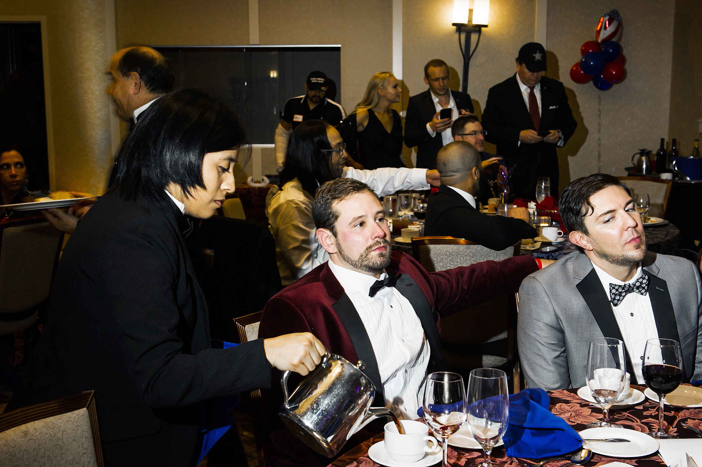 Gays for Trump hosted the Inaugural Deploraball at the Bolger Center in Potomac, Maryland on January 20, 2017.