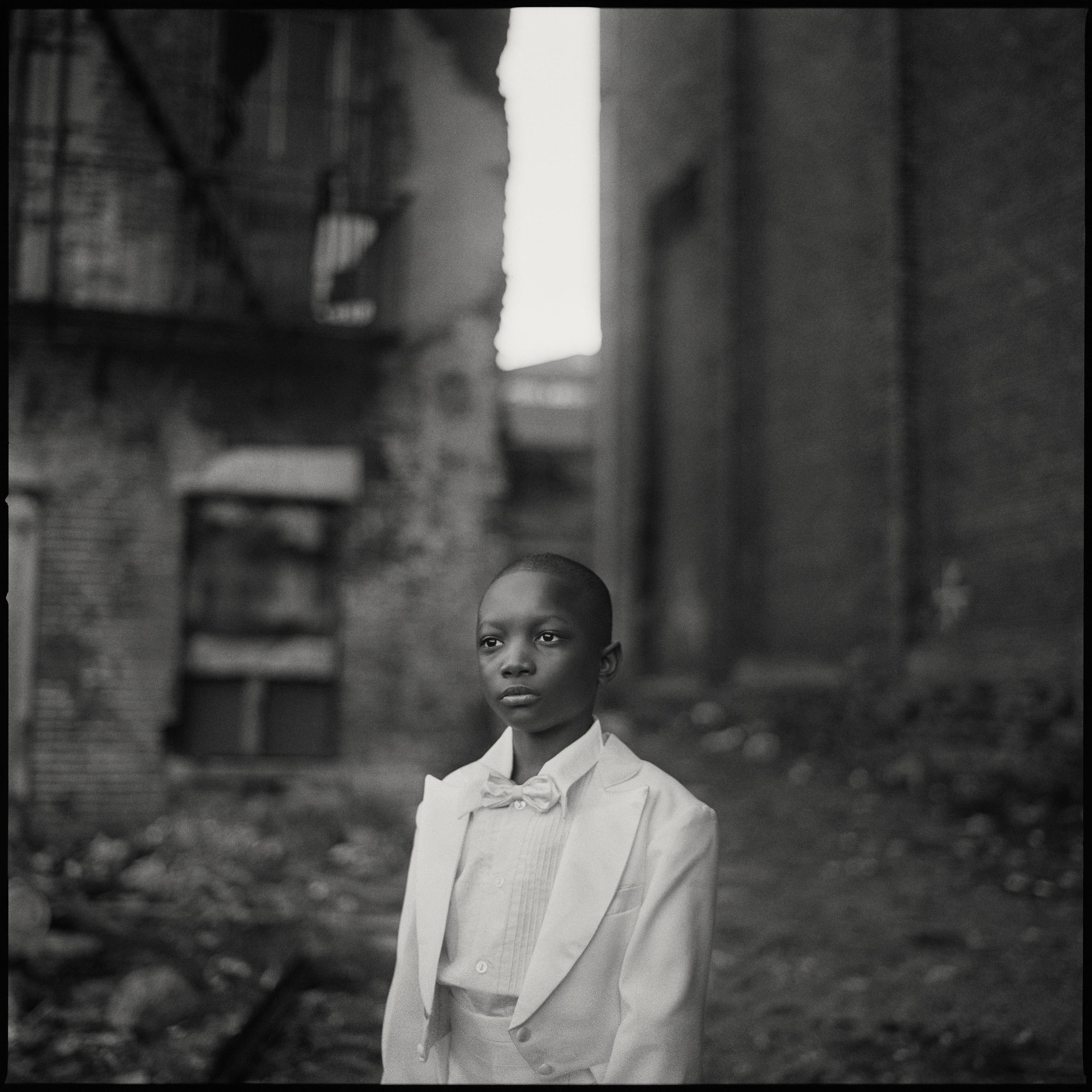Boy in Church Clothes, Harlem, 1993.