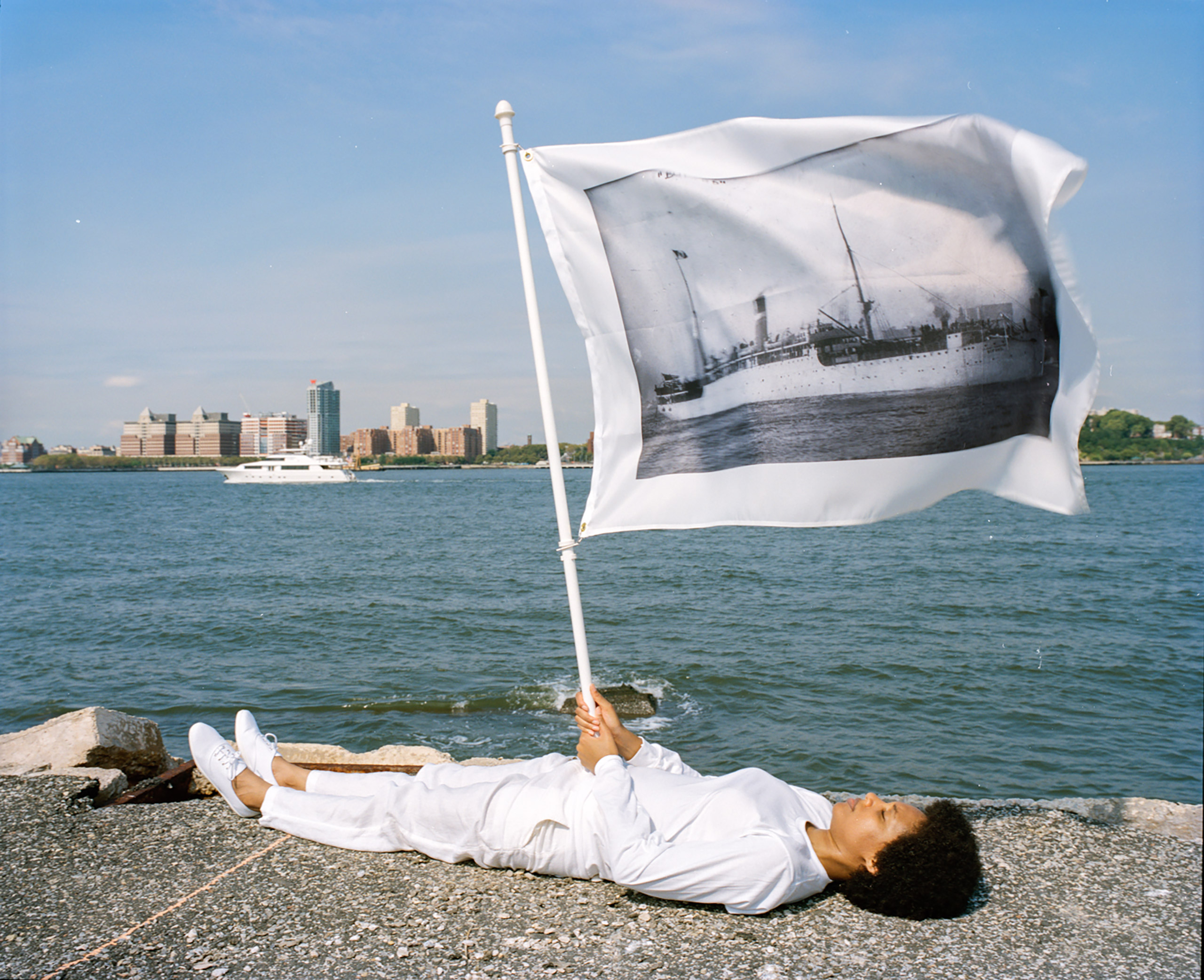 Pier 54: A Human Right to Passage. 2014.