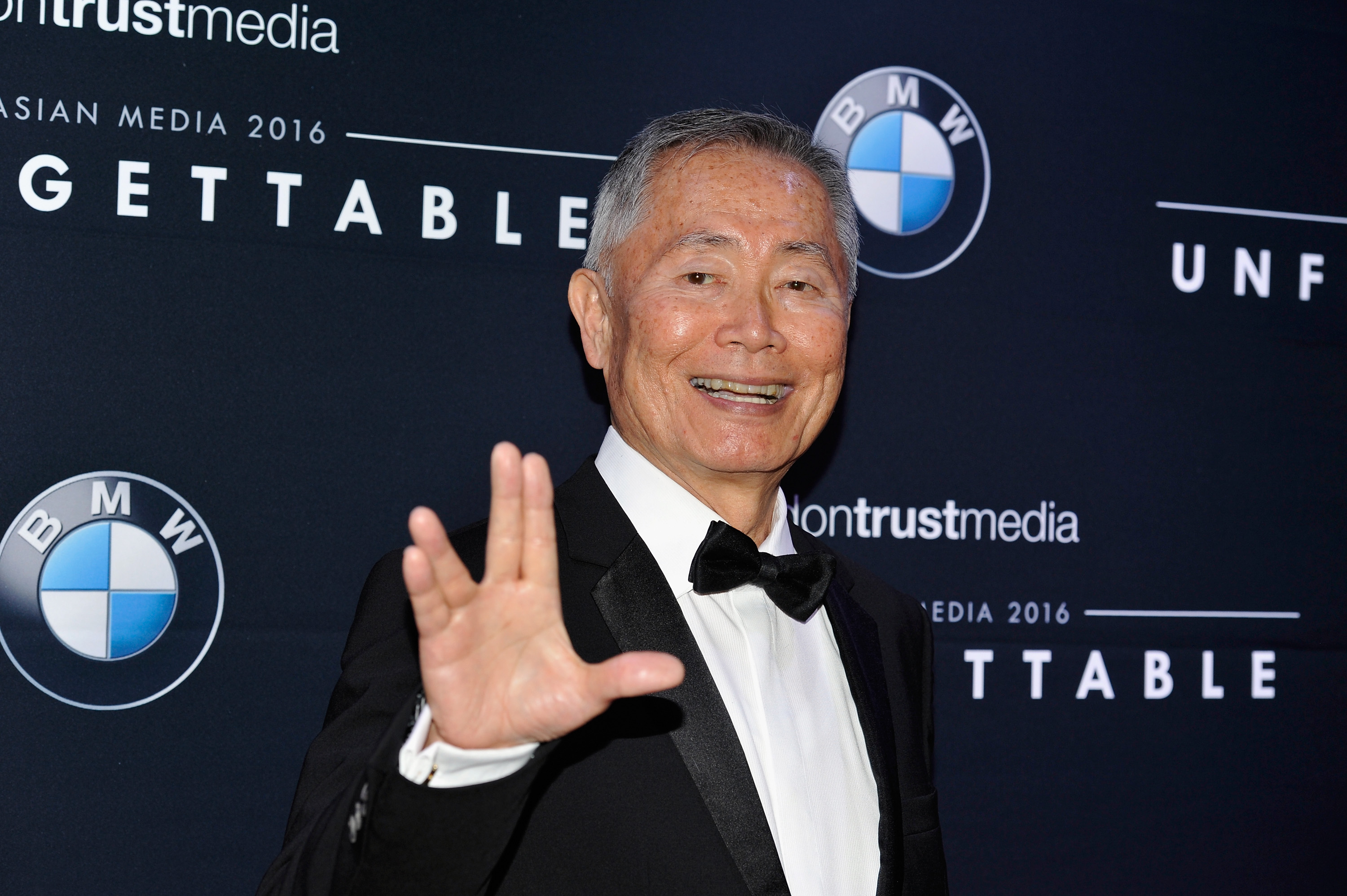 Actor George Takei attends the 15th Annual Unforgettable Gala at The Beverly Hilton Hotel on December 10, 2016 in Beverly Hills, California.