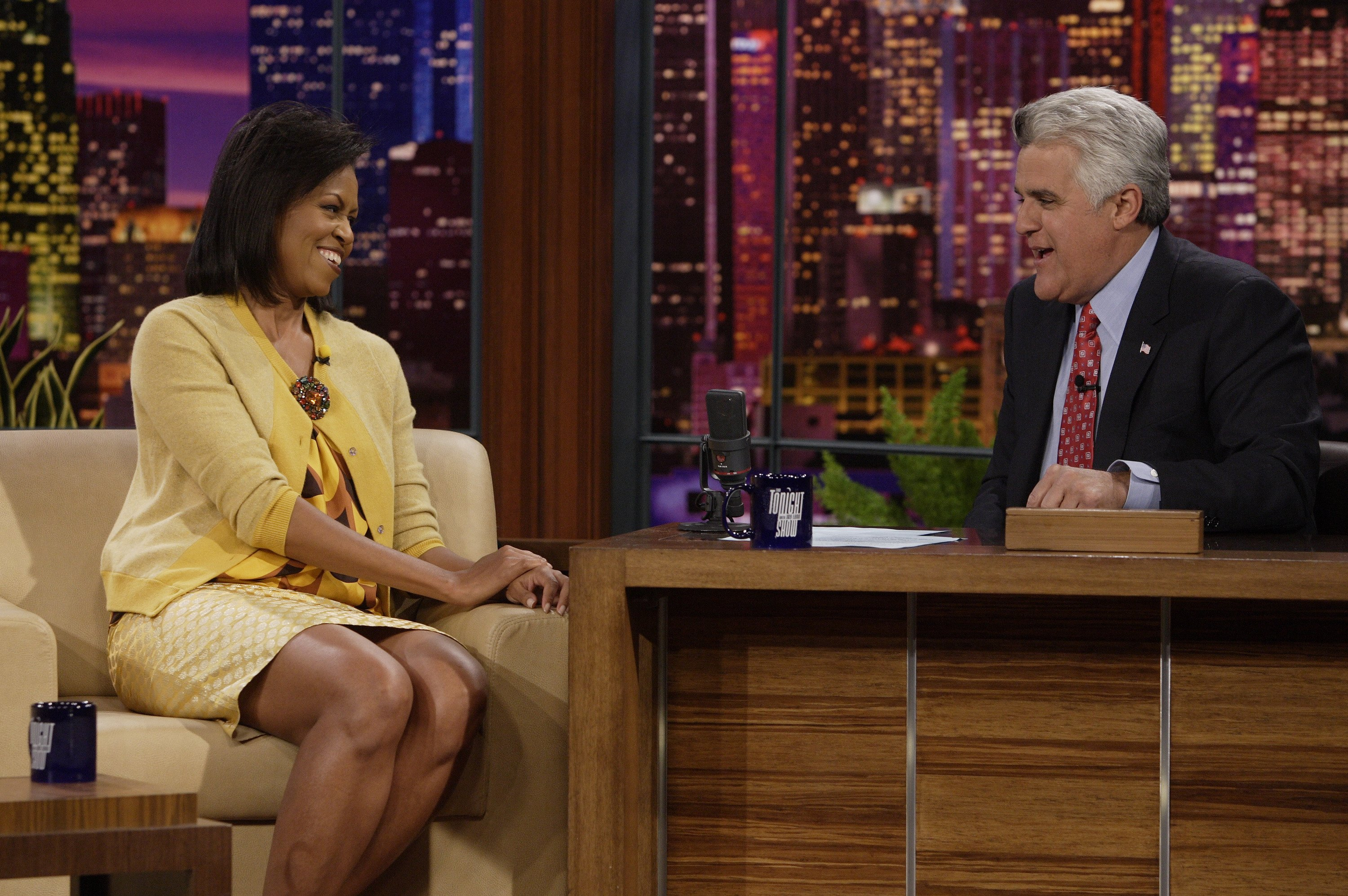 The Tonight Show with Jay Leno - Michelle Obama