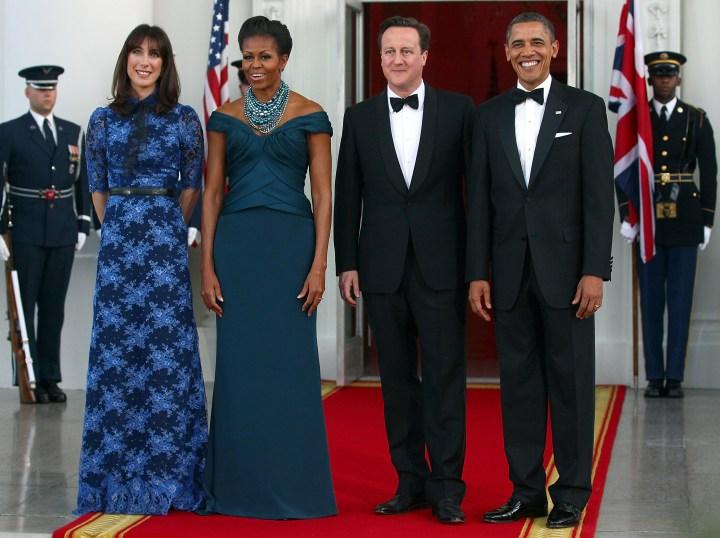 President And Mrs. Obama Host Official Visit Of UK Prime Minister Cameron