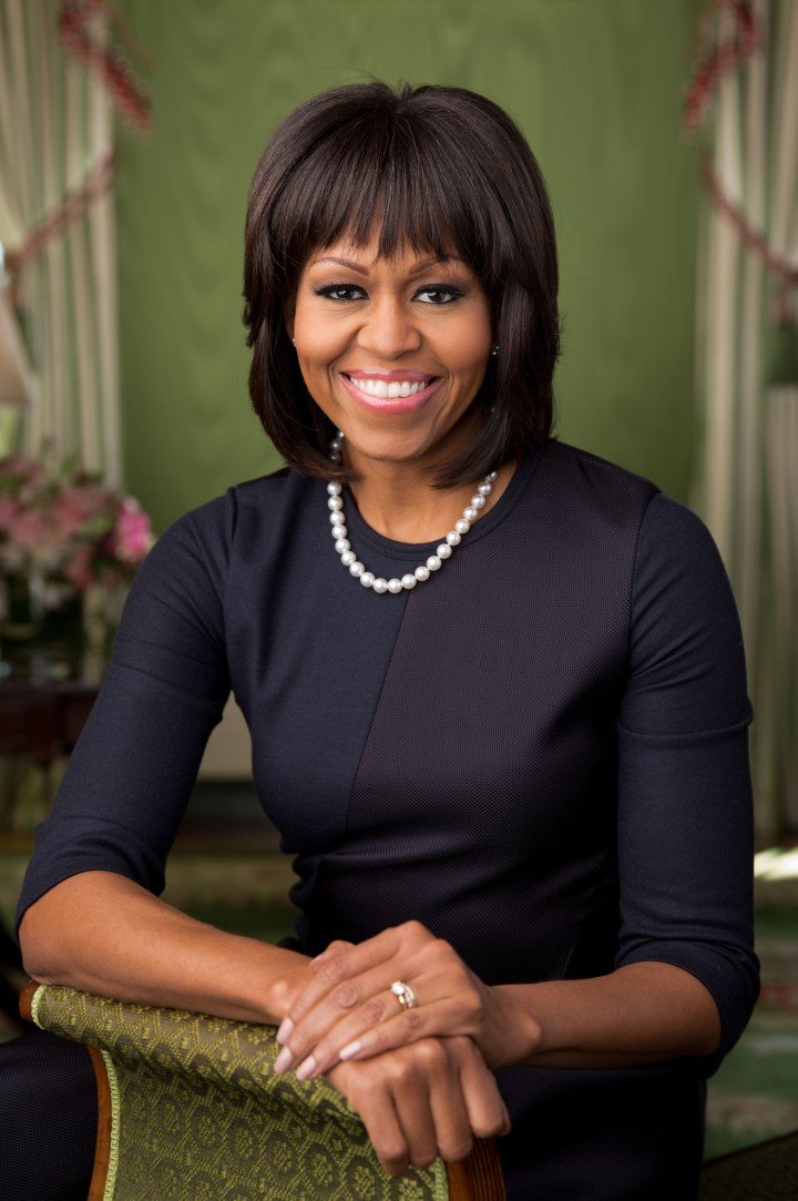 White House Releases Official Portrait Of First Lady