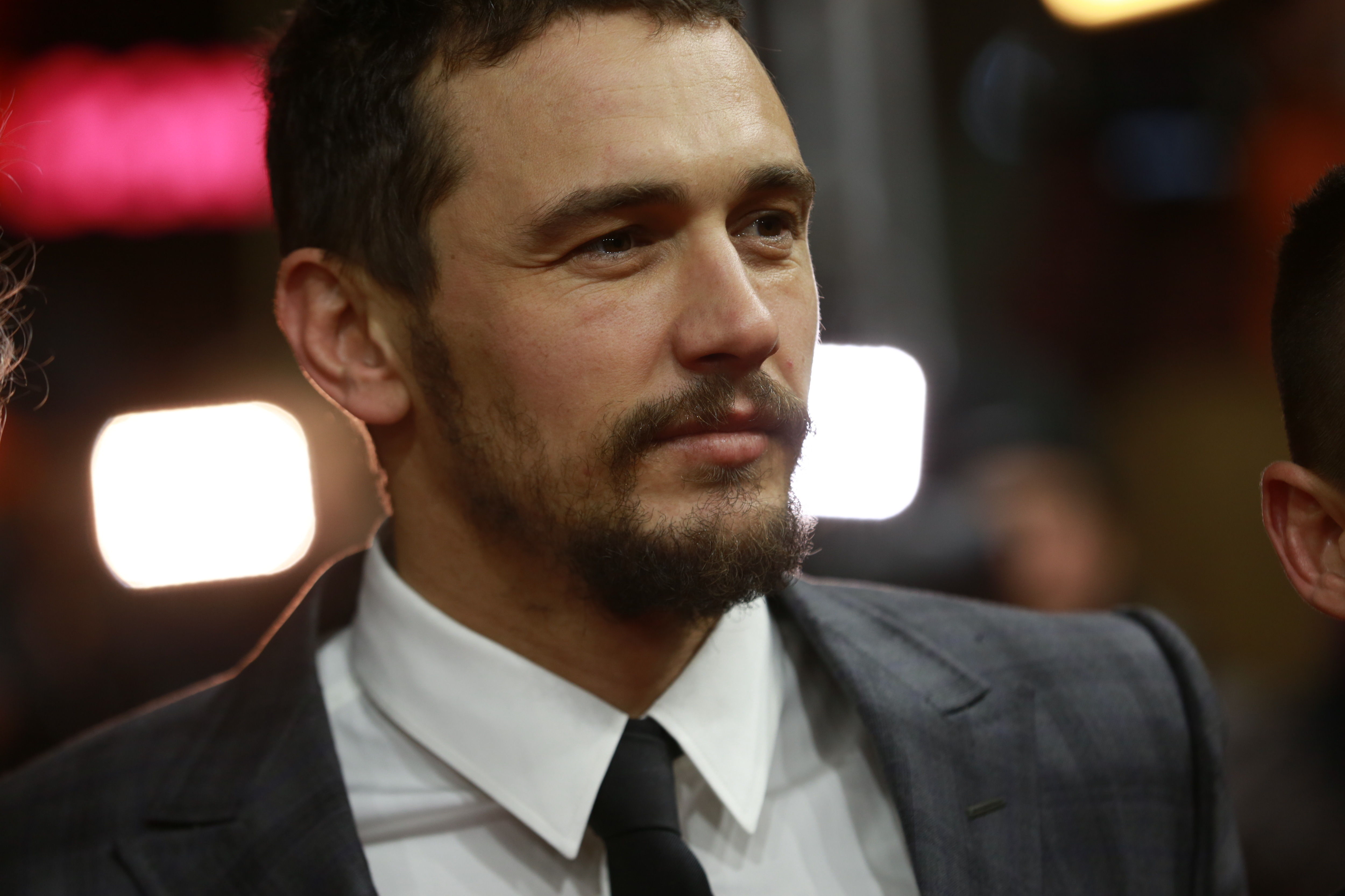 Actor James Franco in the red carpet for the presentation of 'I Am Michael' at the 65th Berlinale.