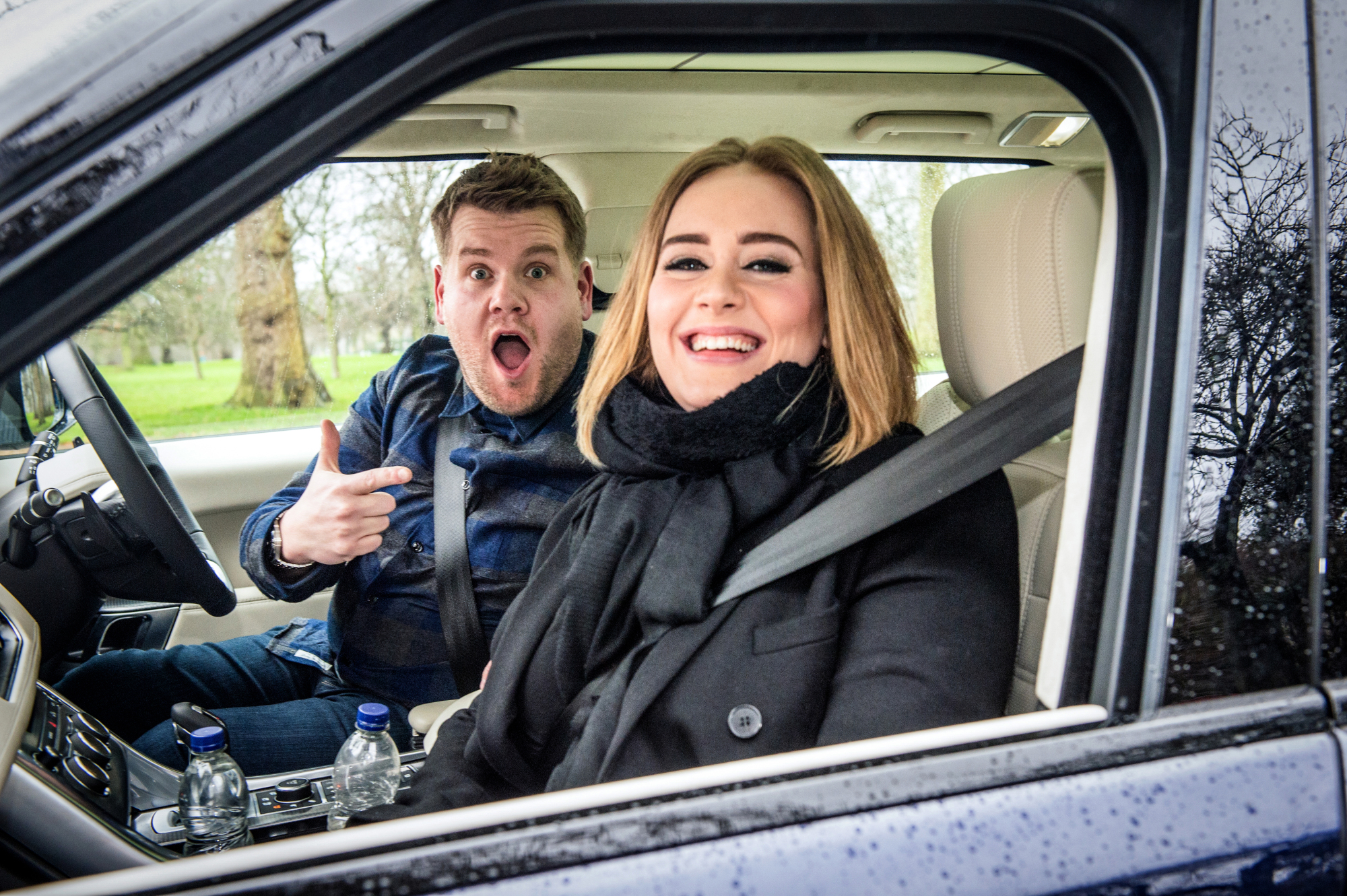 Adele's segment on  Carpool Karaoke  was the most viral video of 2016.